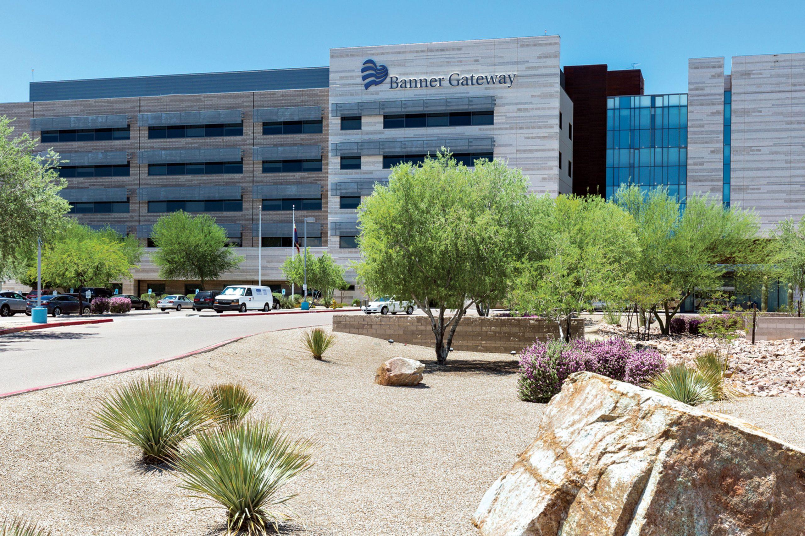 Banner Gateway Medical Center, Gilbert; Photo courtesy Banner Health