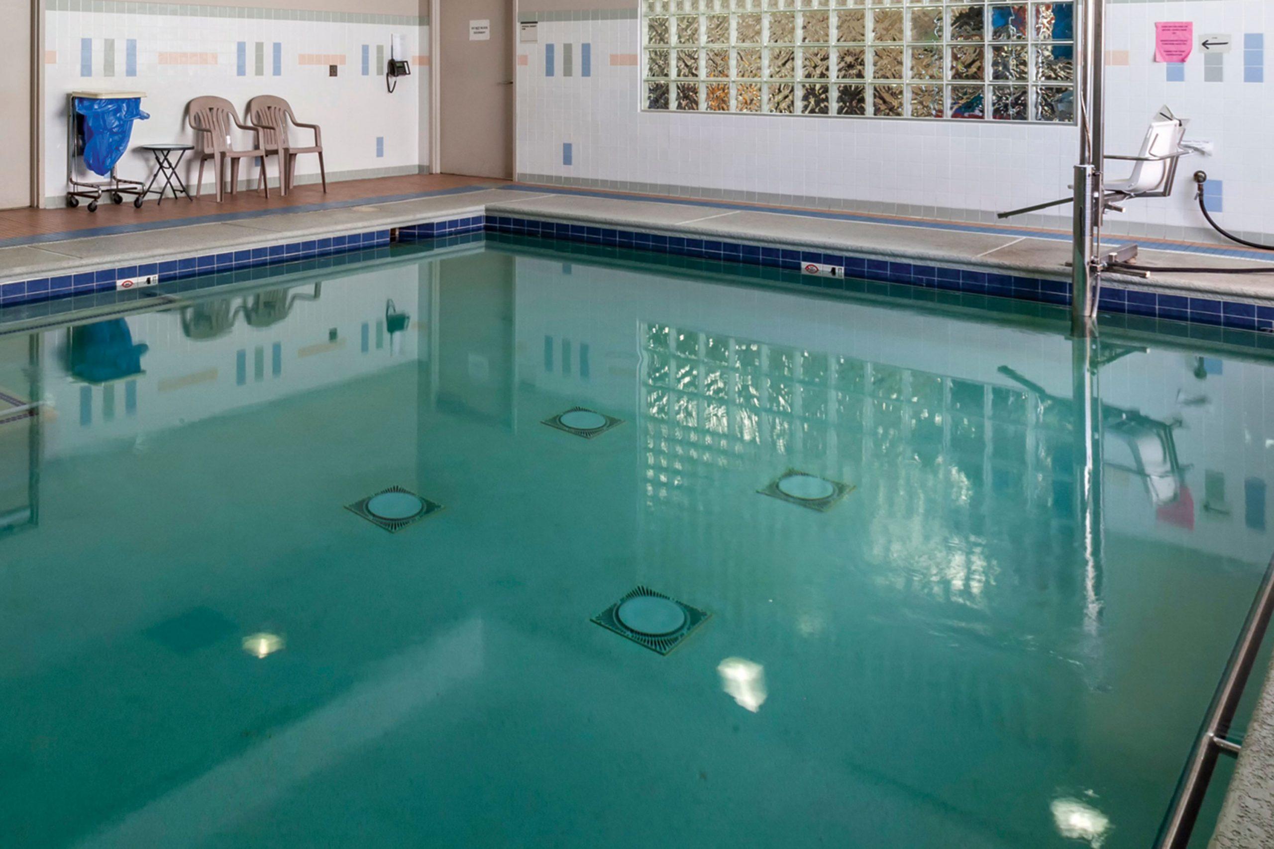Therapeutic Pool at Encompass Health Rehabilitation Hospital of Scottsdale; Photo courtesy Encompass Health Rehabilitation Hospital