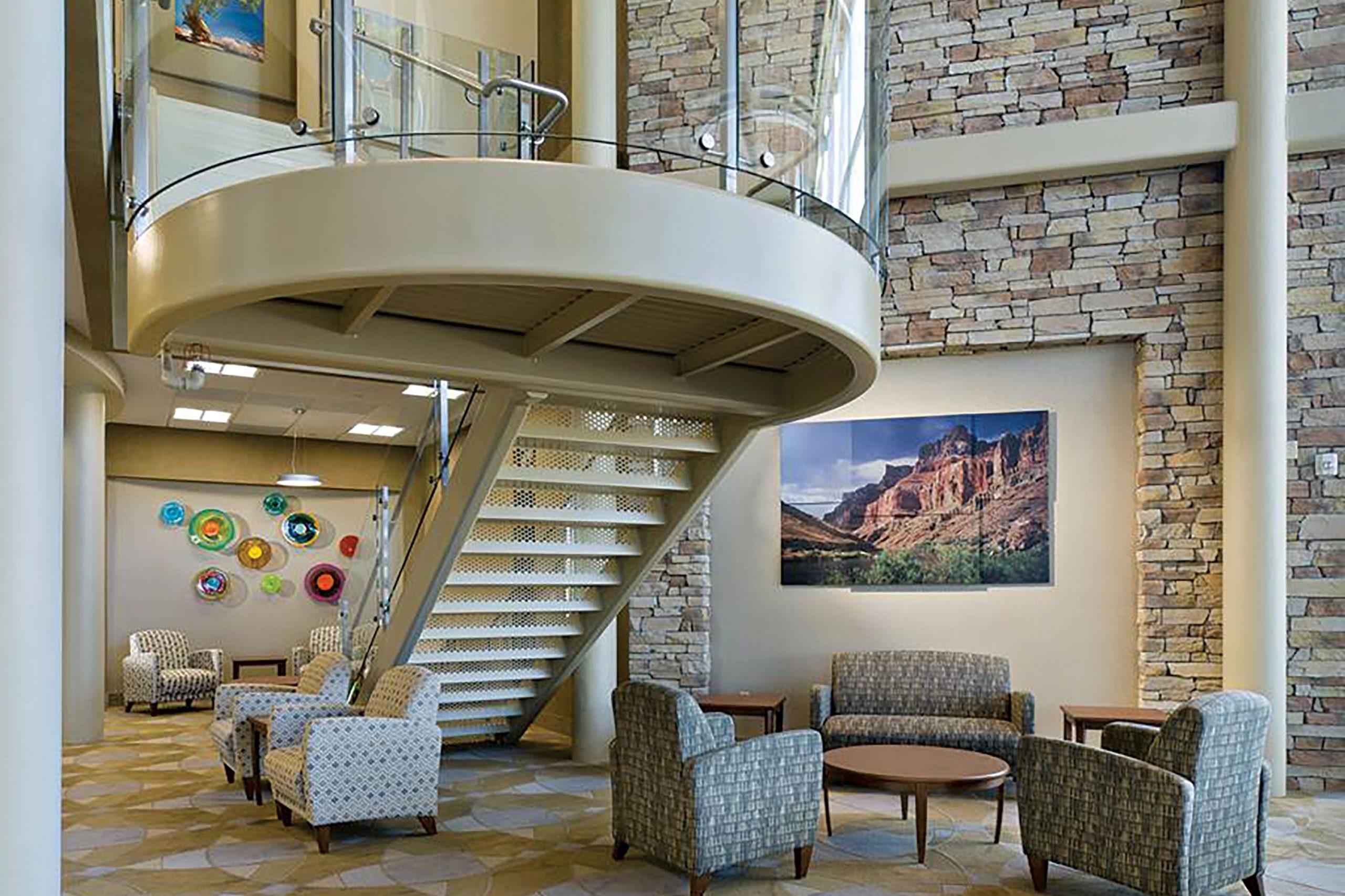 Interior of Oasis Hospital, Phoenix; Photo courtesy Oasis Hospital