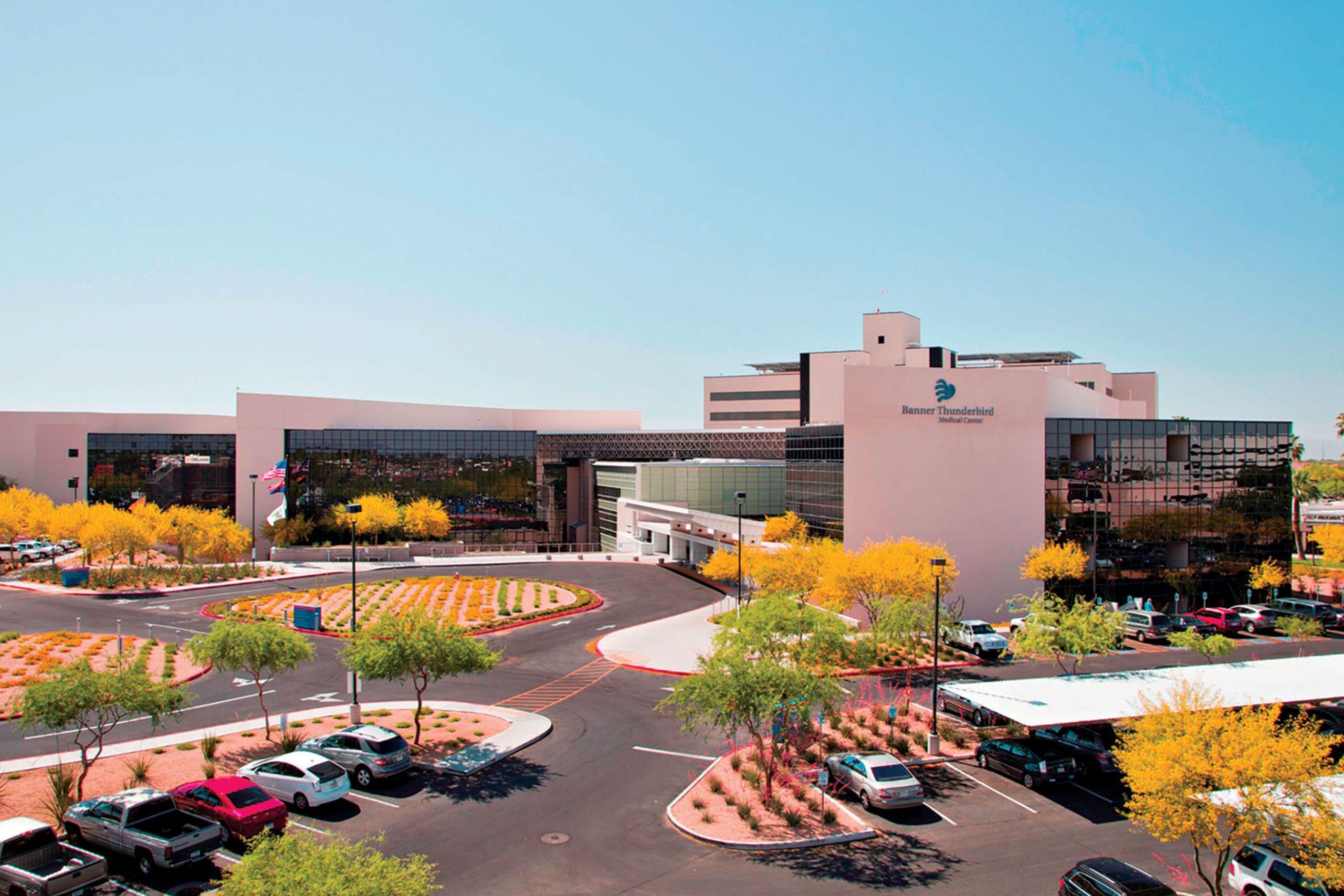 Banner Thunderbird Medical Center, Glendale, AZ, Scottsdale; Photo courtesy Banner Health