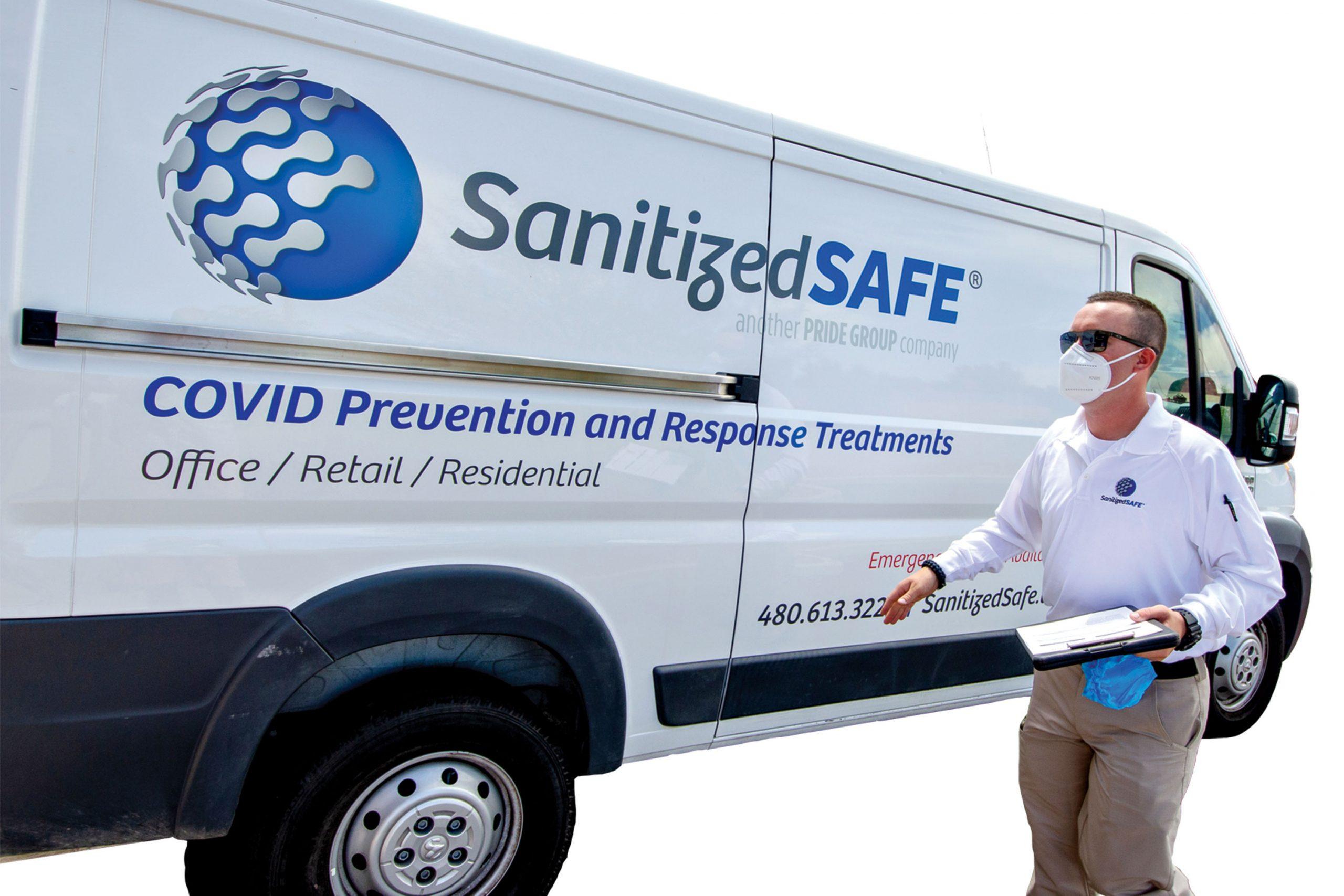 Photo courtesy Sanitized Safe