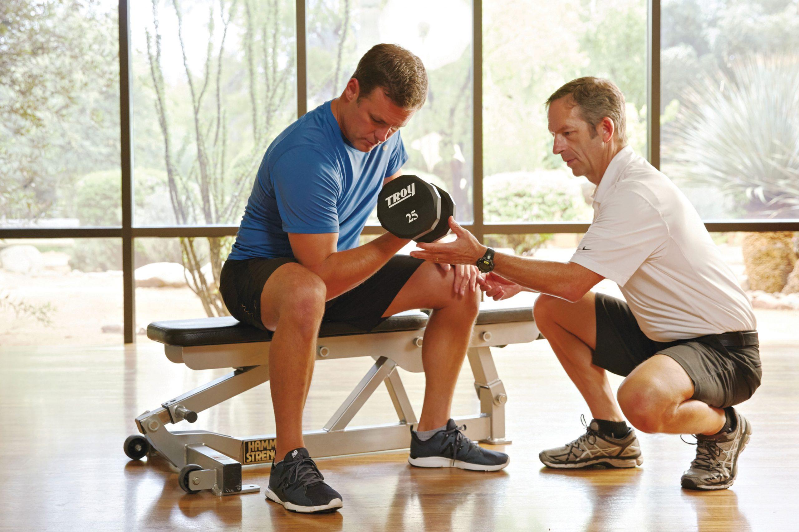 Exercise physiology at Canyon Ranch; Photo courtesy Canyon Ranch