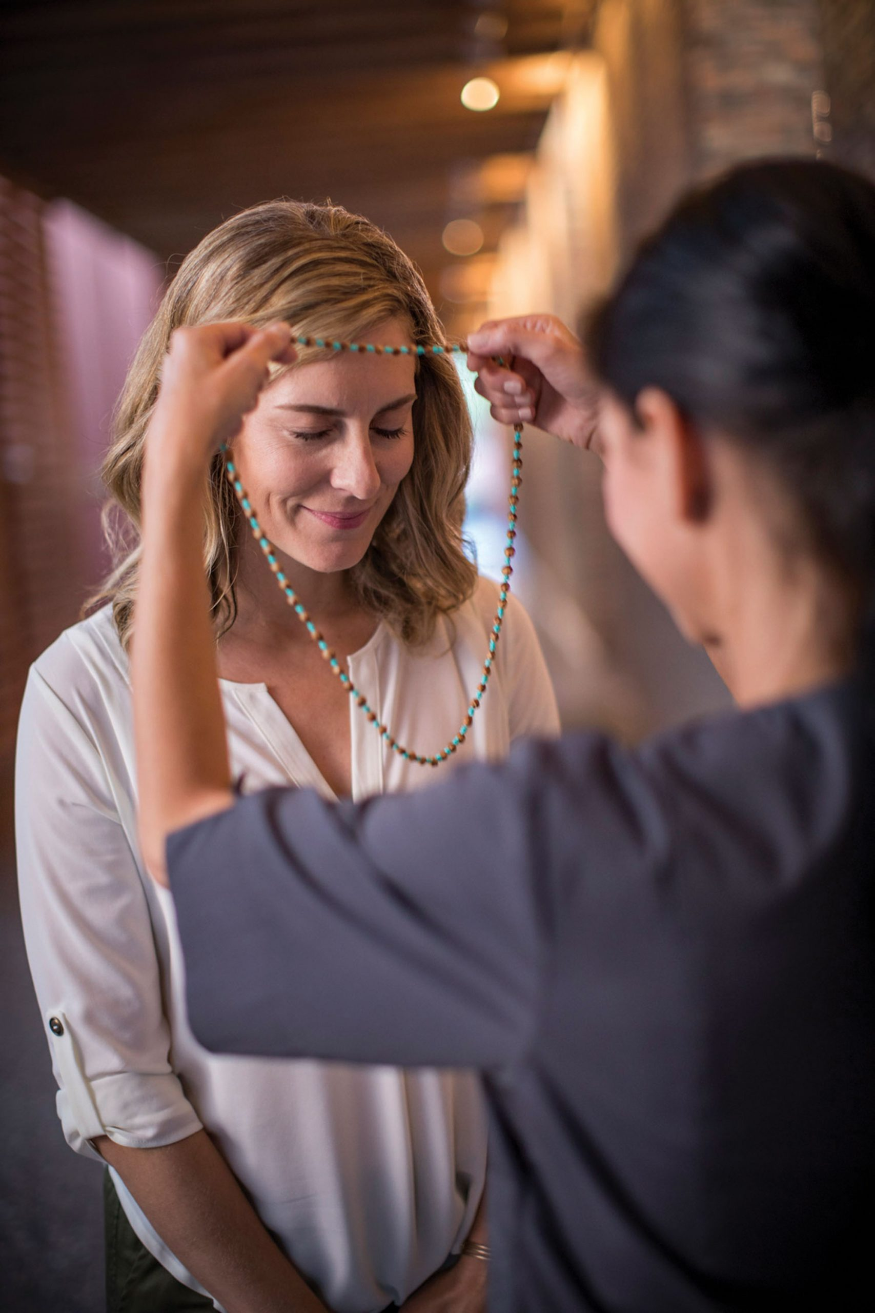 Bead ceremony at Enchantment Resort