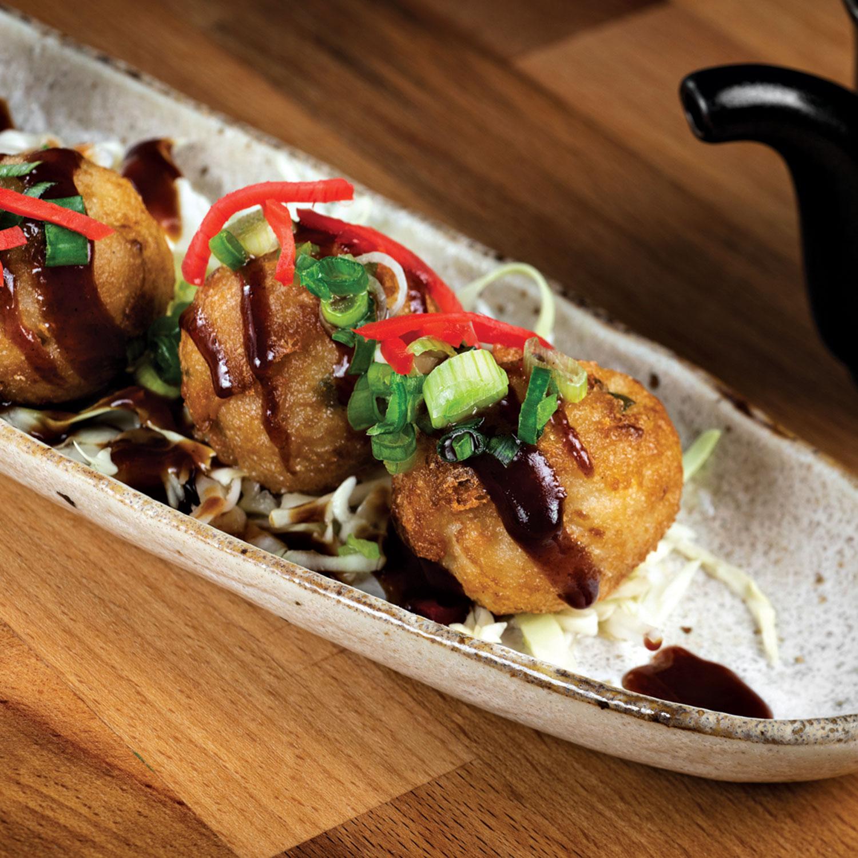 takoyaki at Ramen Kagawa; Photography by Rob Ballard