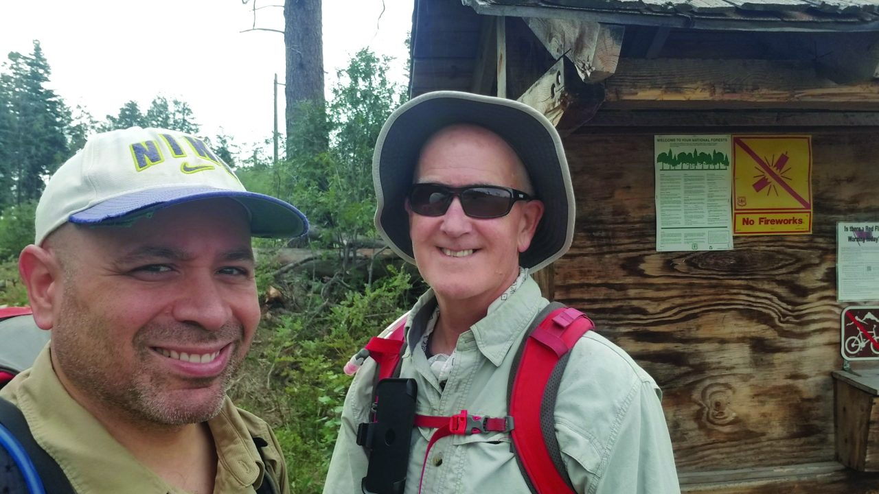 Hiker Tom Rodriguez Learns Risk Management in the Remote Blue Range Primitive Area