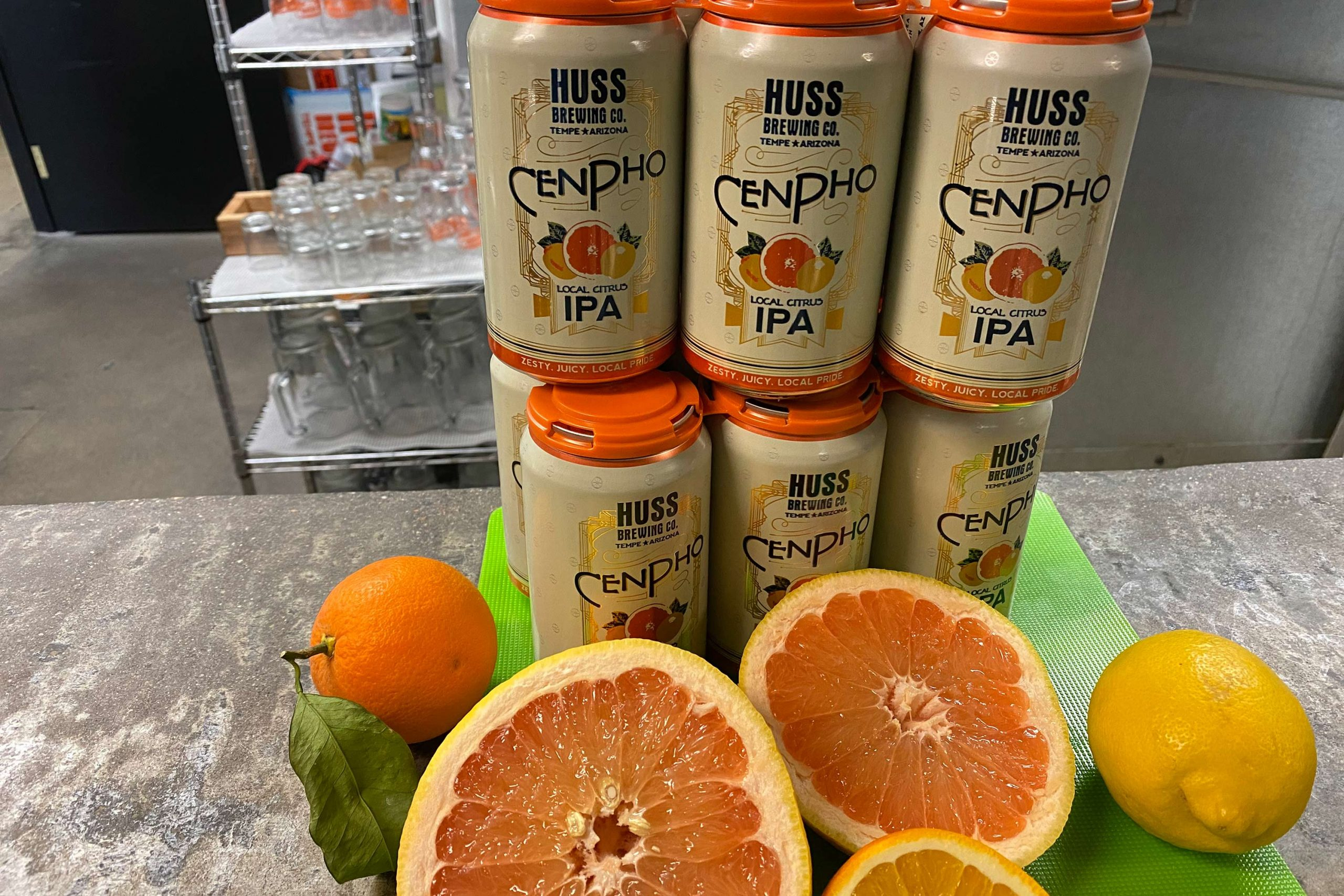 CenPho Citrus IPA from Huss Brewing