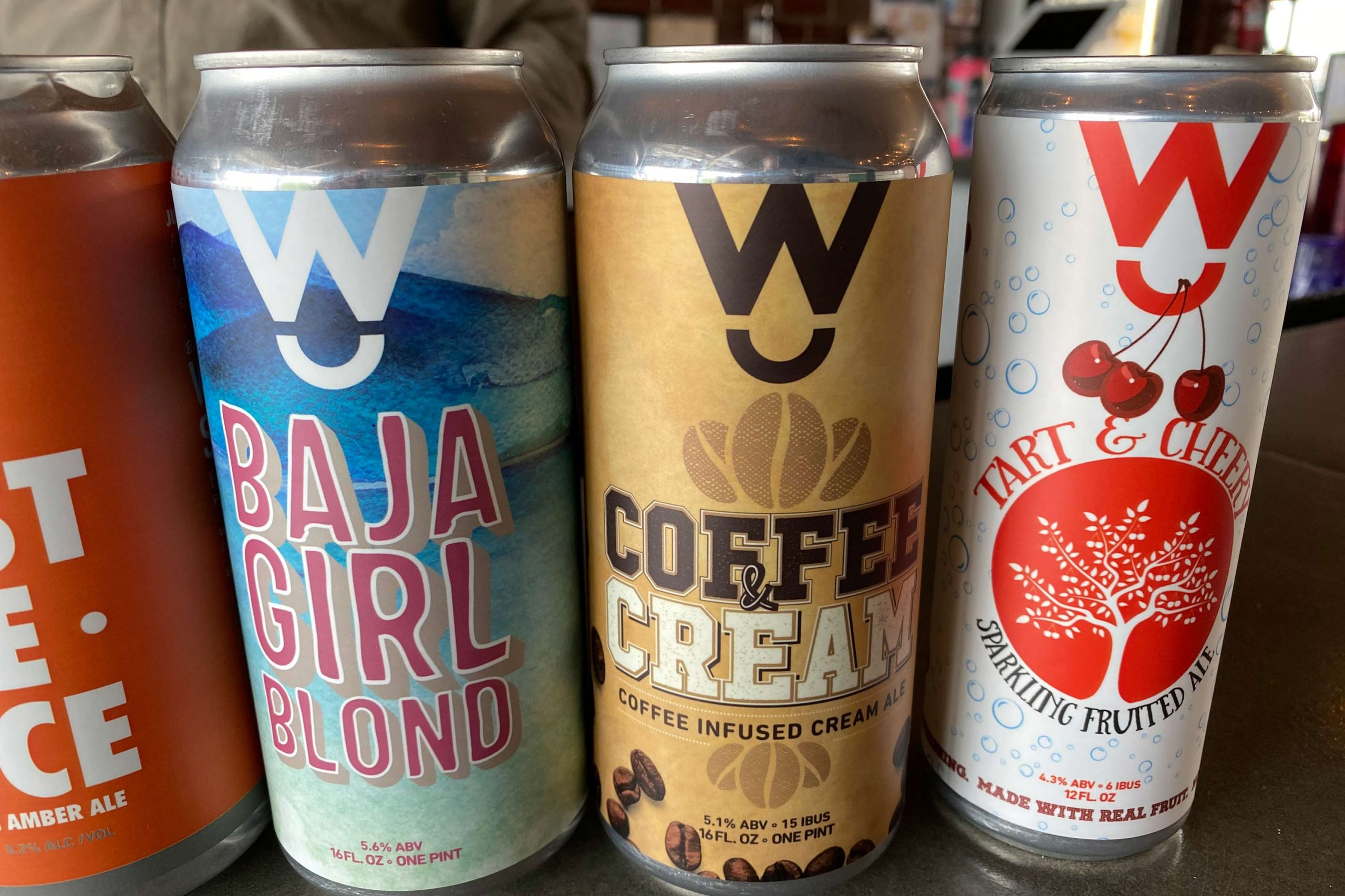 Coffee and Cream coffee infused cream ale from Walter Station Brewery