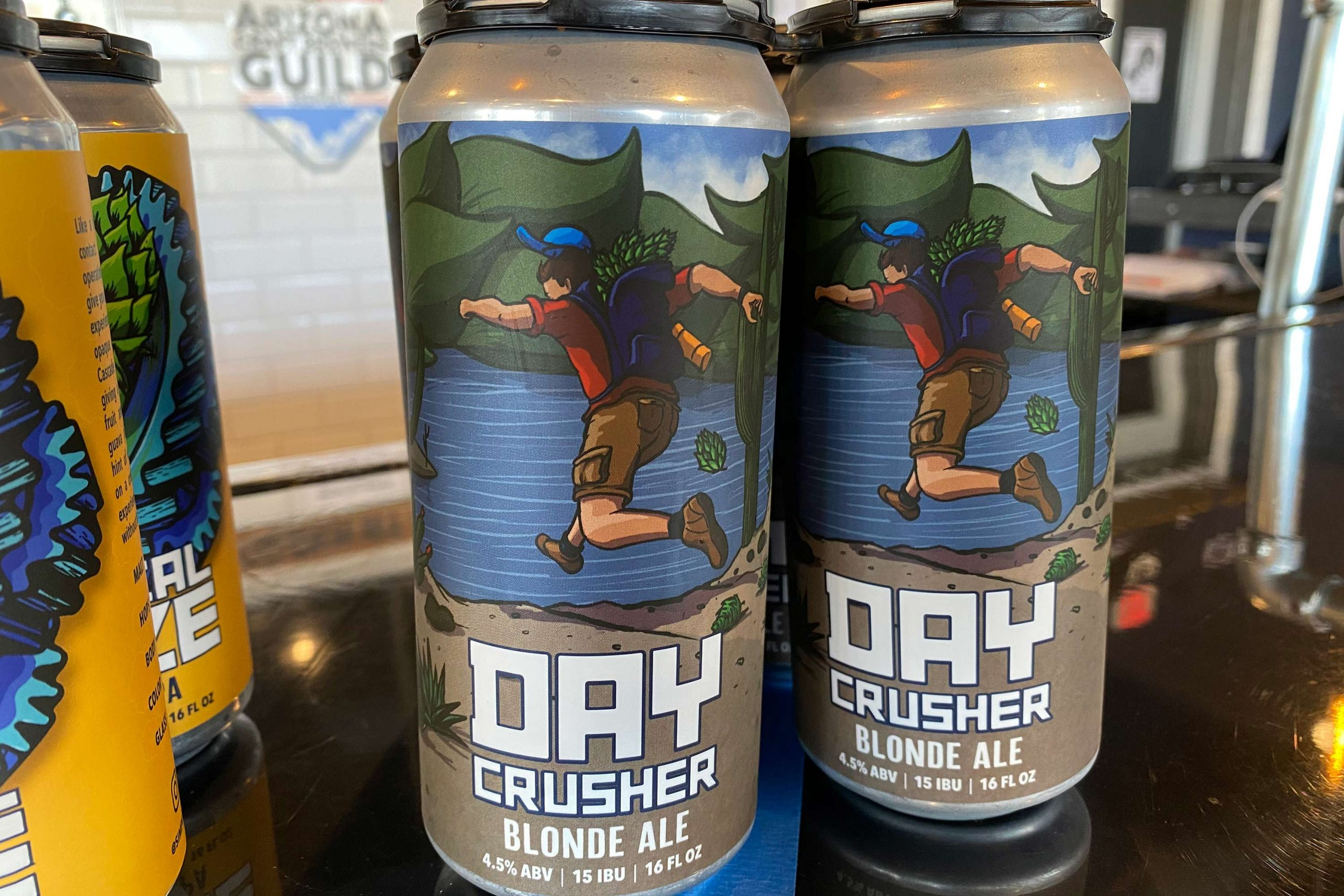 Day Crusher Blonde Ale from Simple Machine Brewing