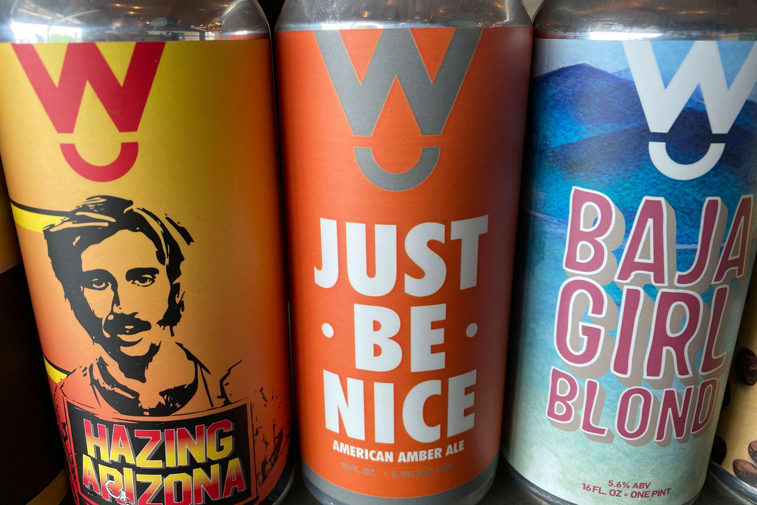 Just Be Nice American amber ale from Walter Station Brewery