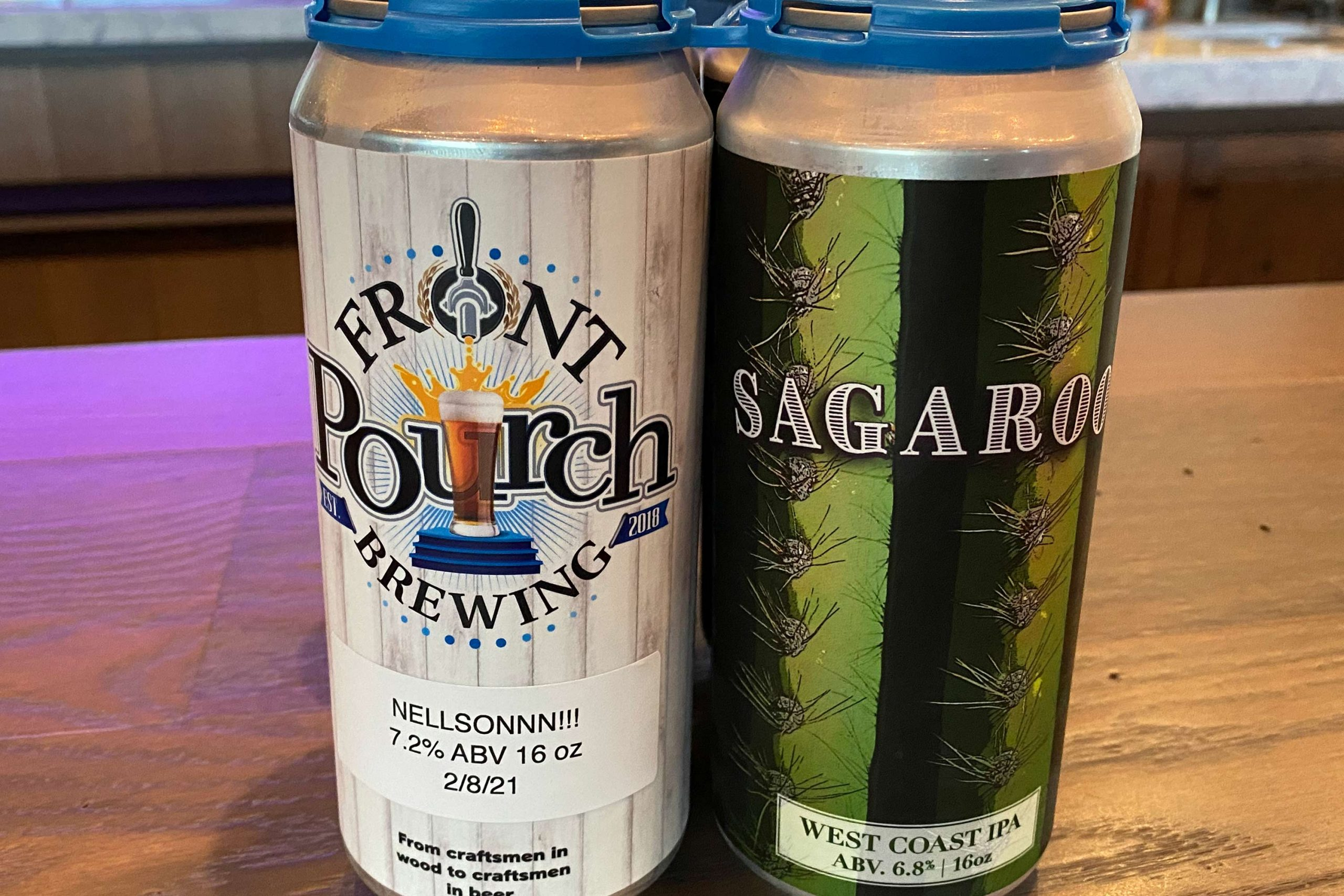 Nellsonnn! & Sagaroo west coast IPA from Front Pourch Brewing