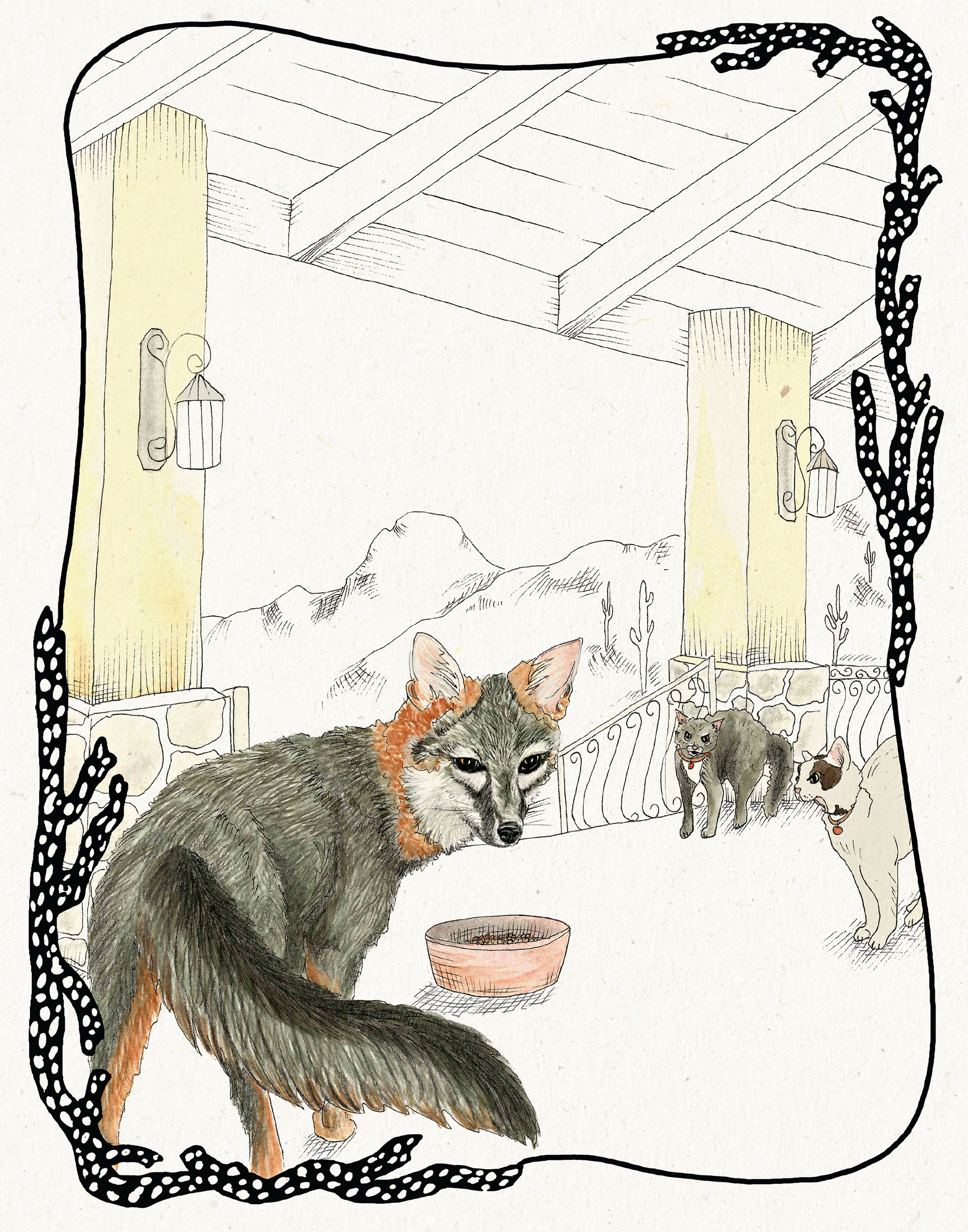 Illustration by Nathalie Aall