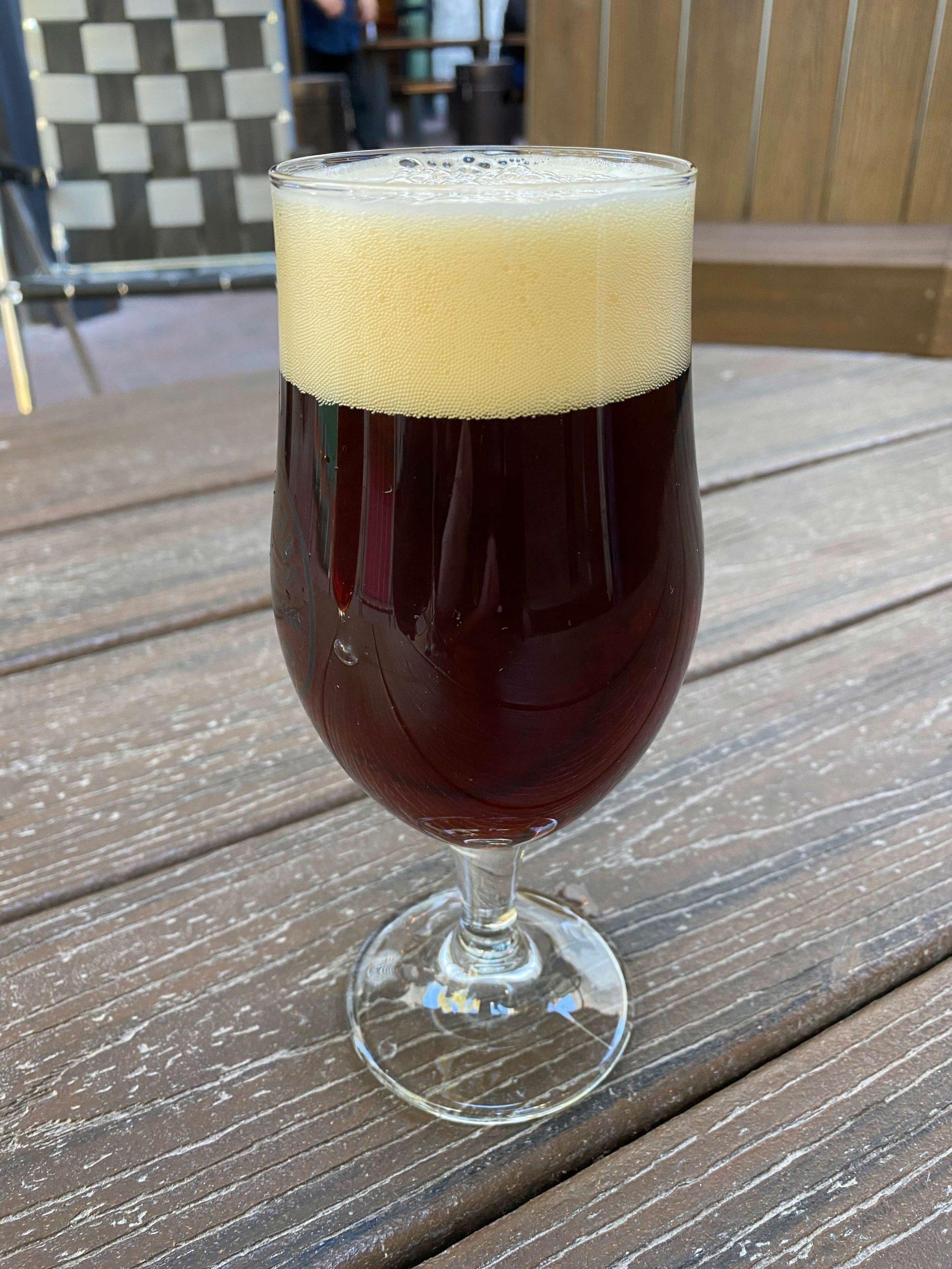 Dopplebock from Pedal Haus Brewery. Photo credit Matthew Johnson.