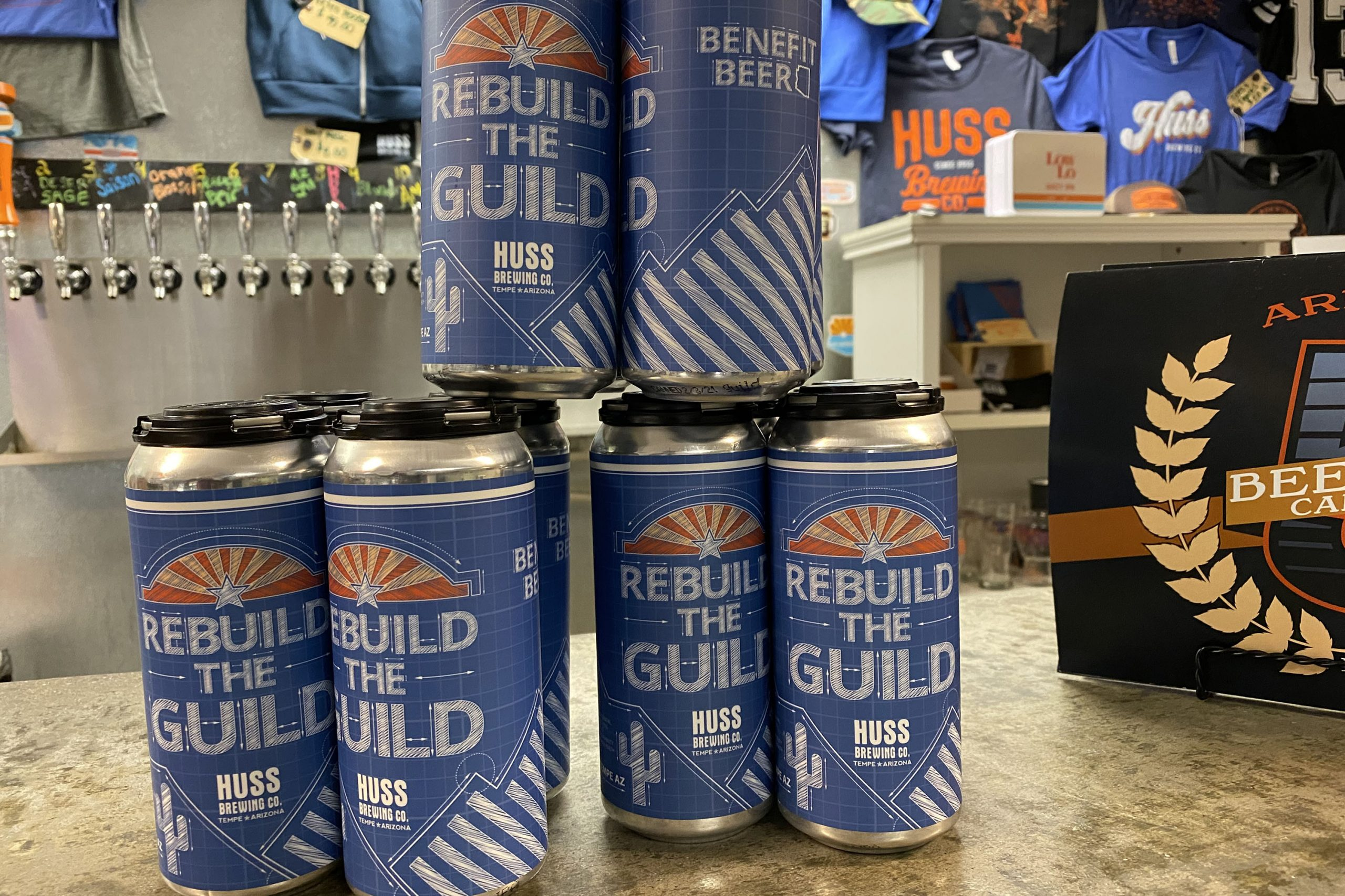 Rebuild the Guild Tropical Hazy IPA from Huss Brewing