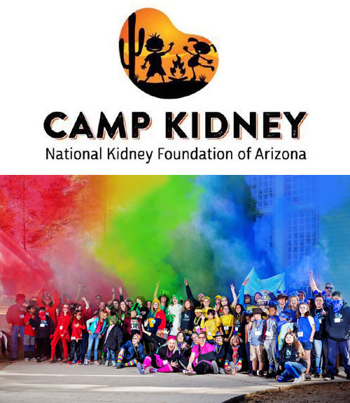 Photo provided by National Kidney Foundation of Arizona and taken prior to COVID-19