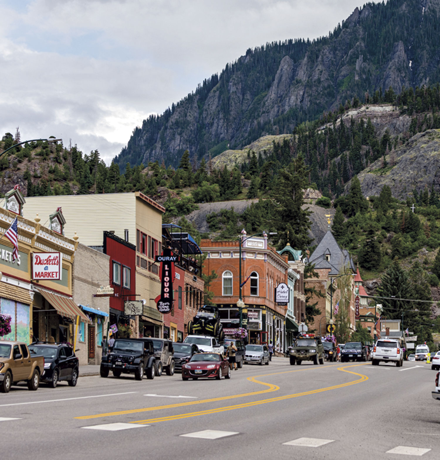 Ouray National Historic District; Photo by Joel Tyson Photography/Courtesy Colorado Tourism Office