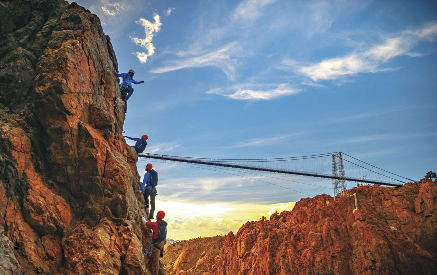 Royal Gorge Bridge; Photo by Ben Black/Courtesy Colorado Tourism Office