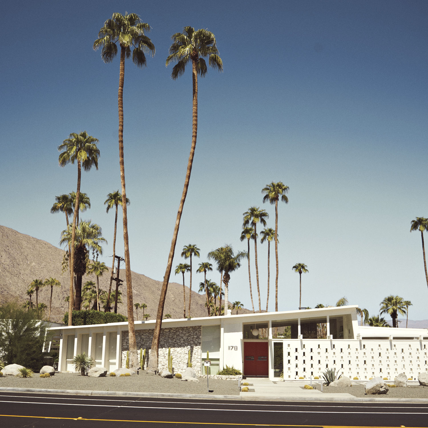 Architecture on Palm Springs Mod Squad tour; Photo Courtesy Adobe stock Images