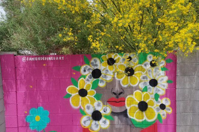Phoenix Mural Project Spotlight: Blooming Spring Murals