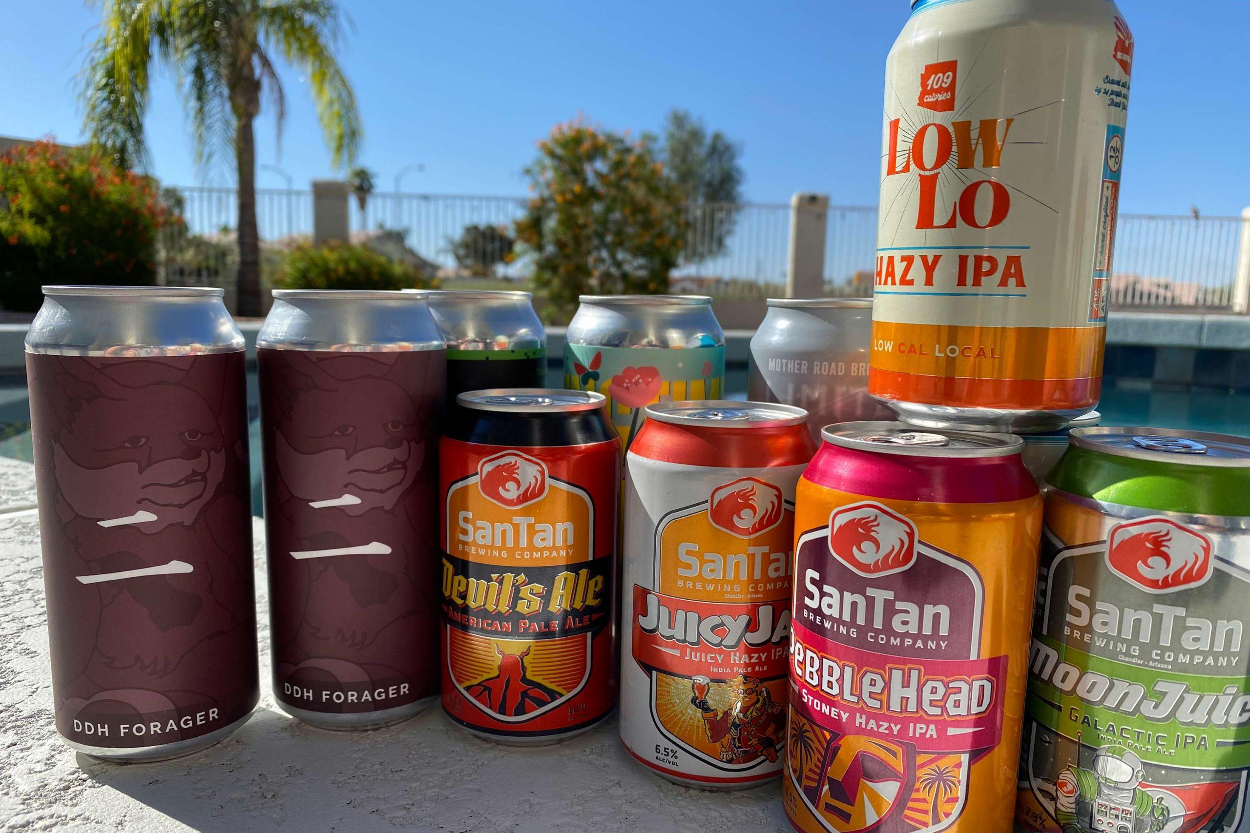 Local beers by the pool. Photo Matthew Johnson/PHOENIX magazine