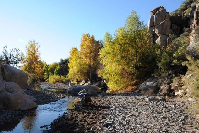 Blue Wash-Camp Creek Falls Hike near Carefree