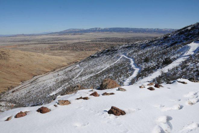 Glassford Hill Summit Trail Hike in Prescott Valley