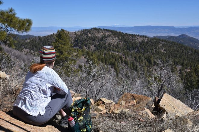 Hike up Mount Union in the Prescott National Forest