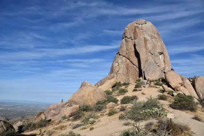 Tom's Thumb Hike in the McDowell Sonoran Preserve