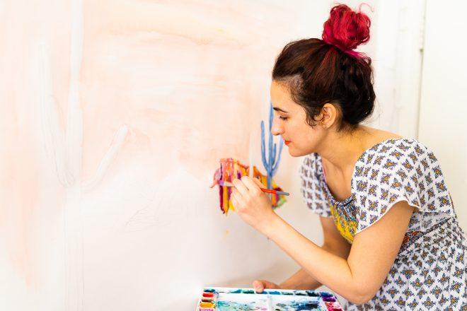 Phoenix Artist Rachel Eskandari Launches New Watercolor Book This Summer