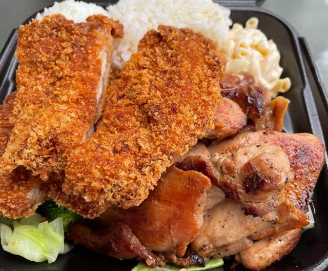 Chicken Katsu & Barbecue Chicken