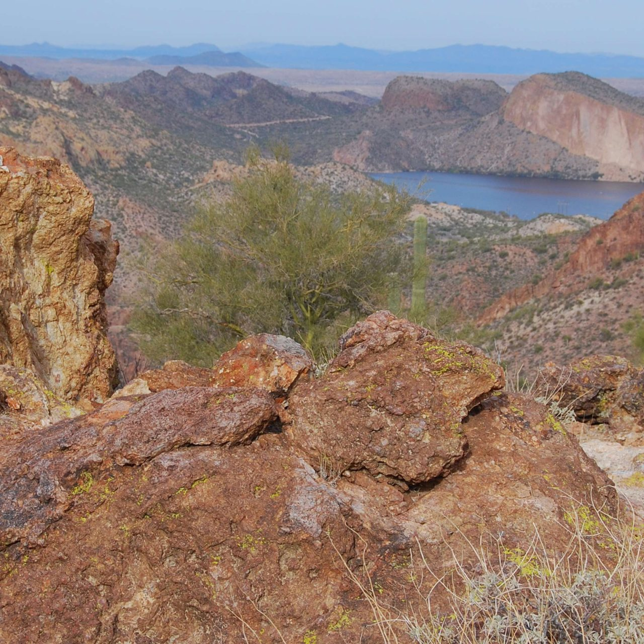 Hike LaBarge Narrows in the Superstition Wilderness Area