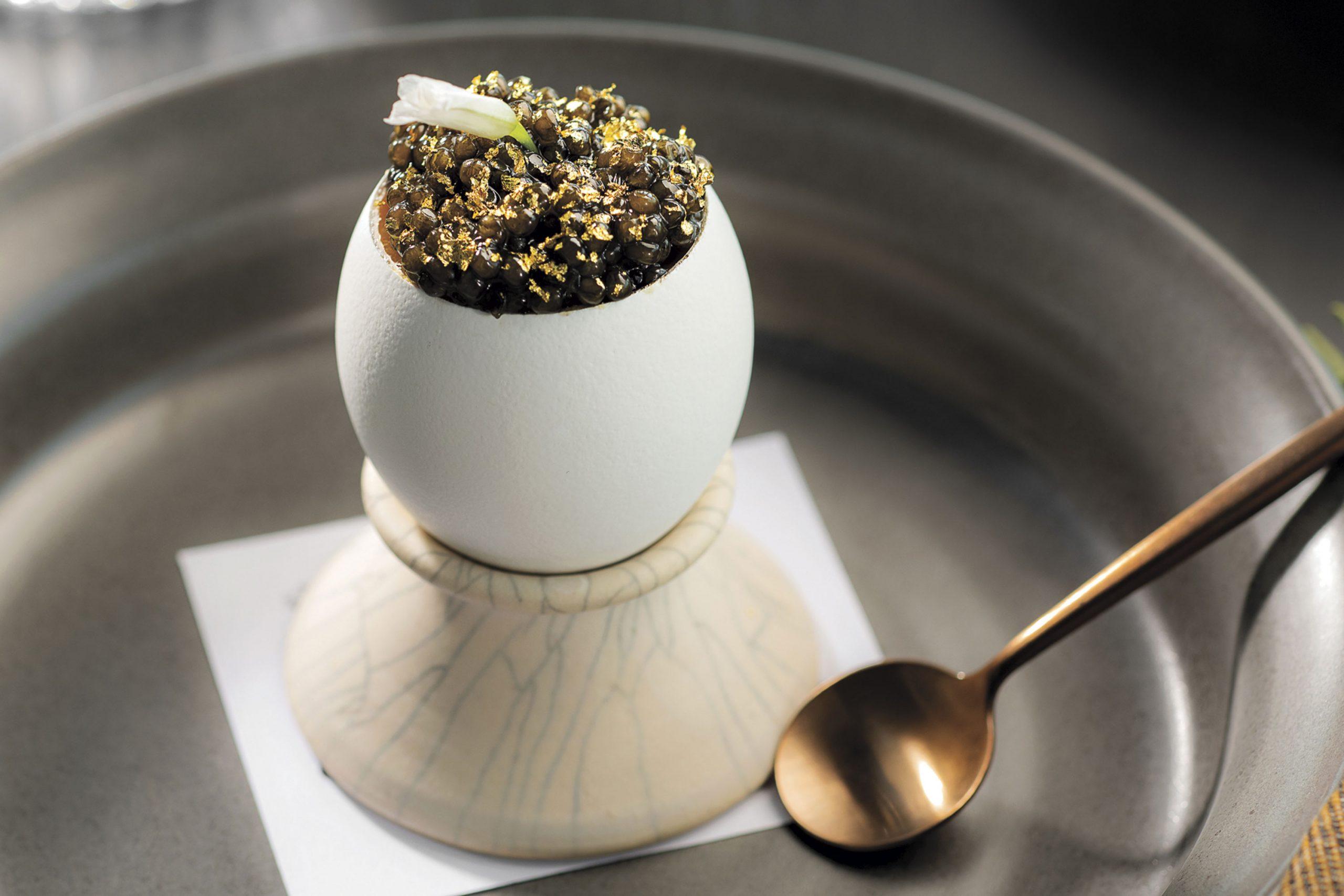 egg in egg in egg; Photo by Rob Ballard