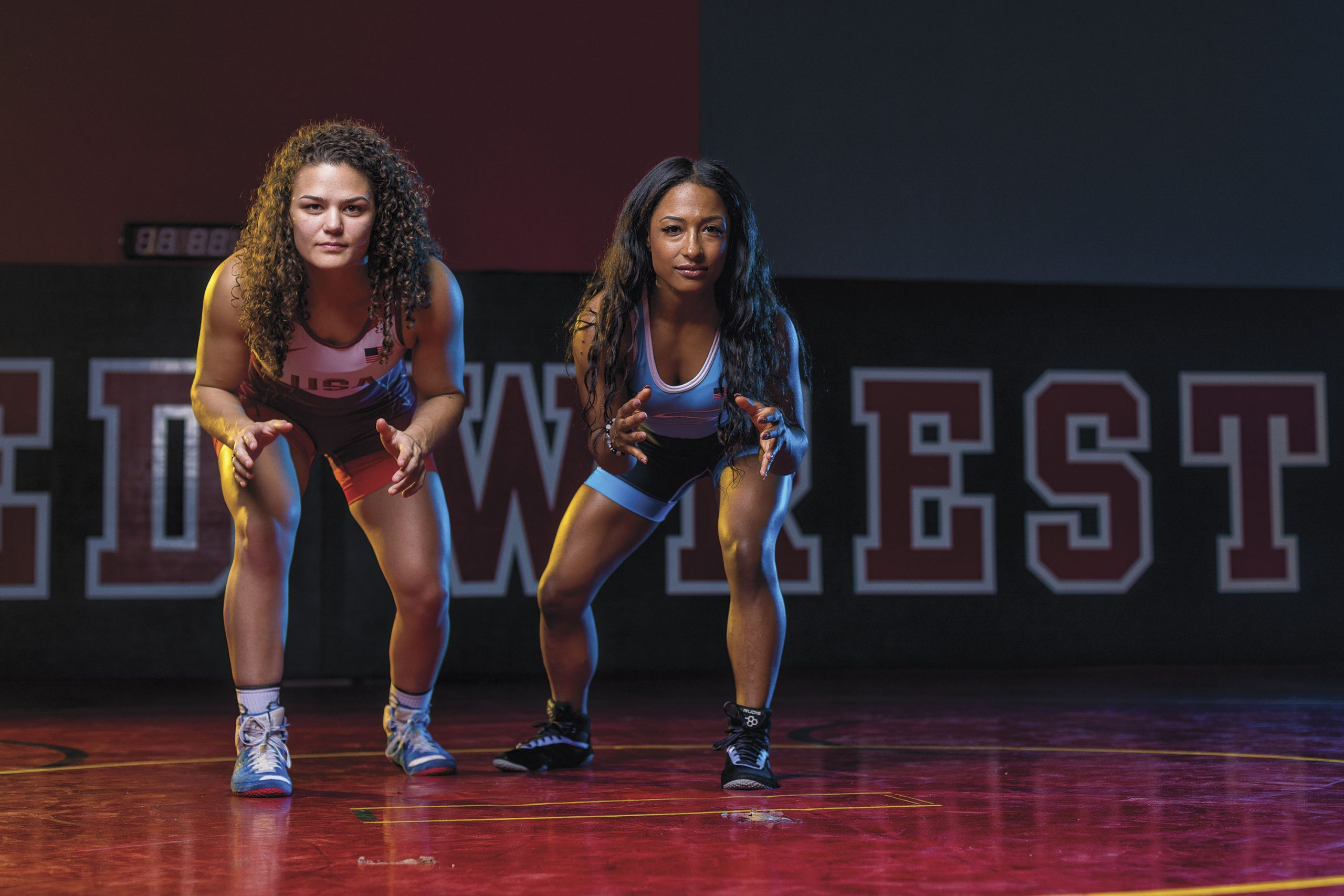 Kayla Miracle , left; Victoria Anthony, right; photo by James Patrick