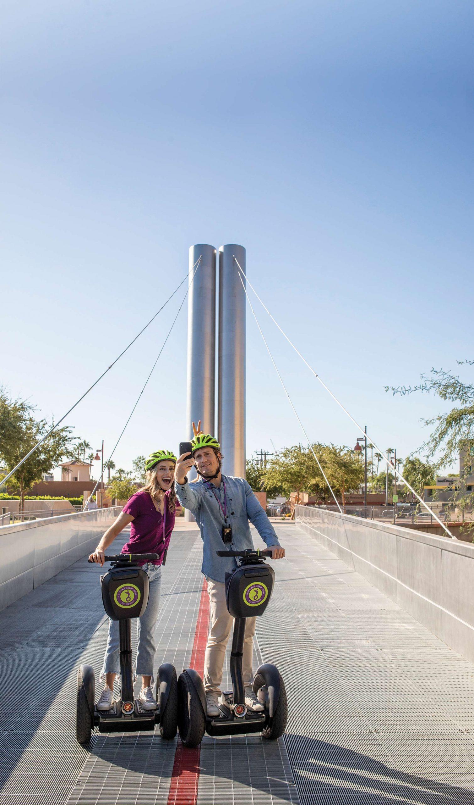 Scottsdale Segway Tours; Photography by Mark Lipczynski