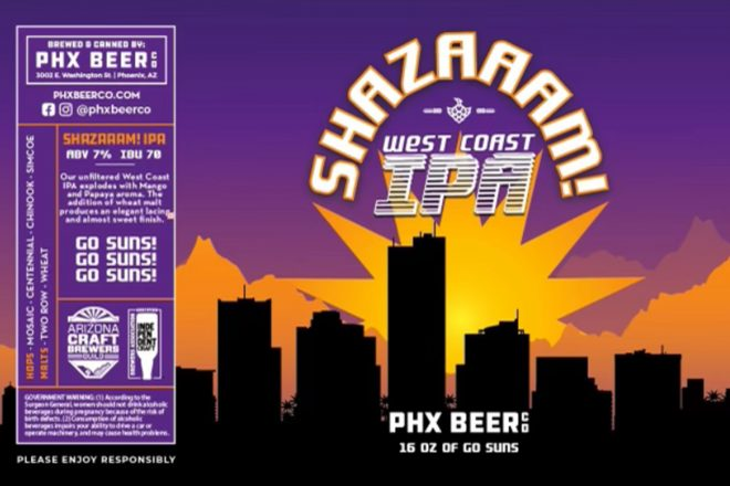 Thirsty Thursday: Suns-Themed Beer is Here