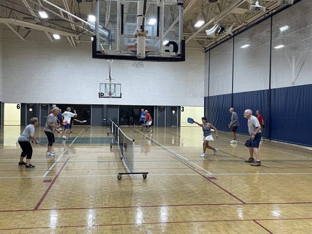 Pickleball at FLC Fitness   Photo by Dylan Chryst Watkiss