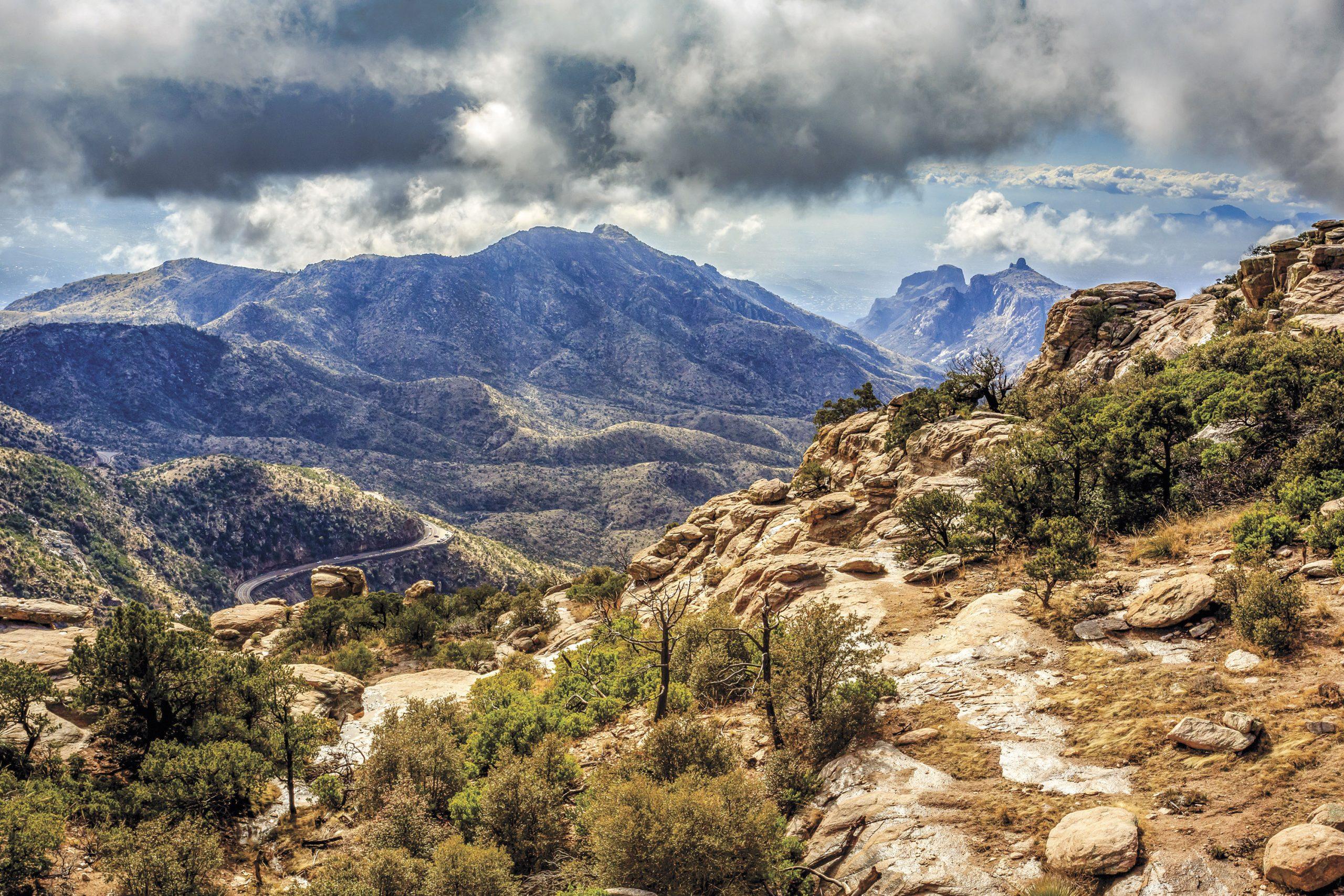 Scenic Catalina Highway on Mt. Lemmon; Photo courtesy Adobe Stock Images