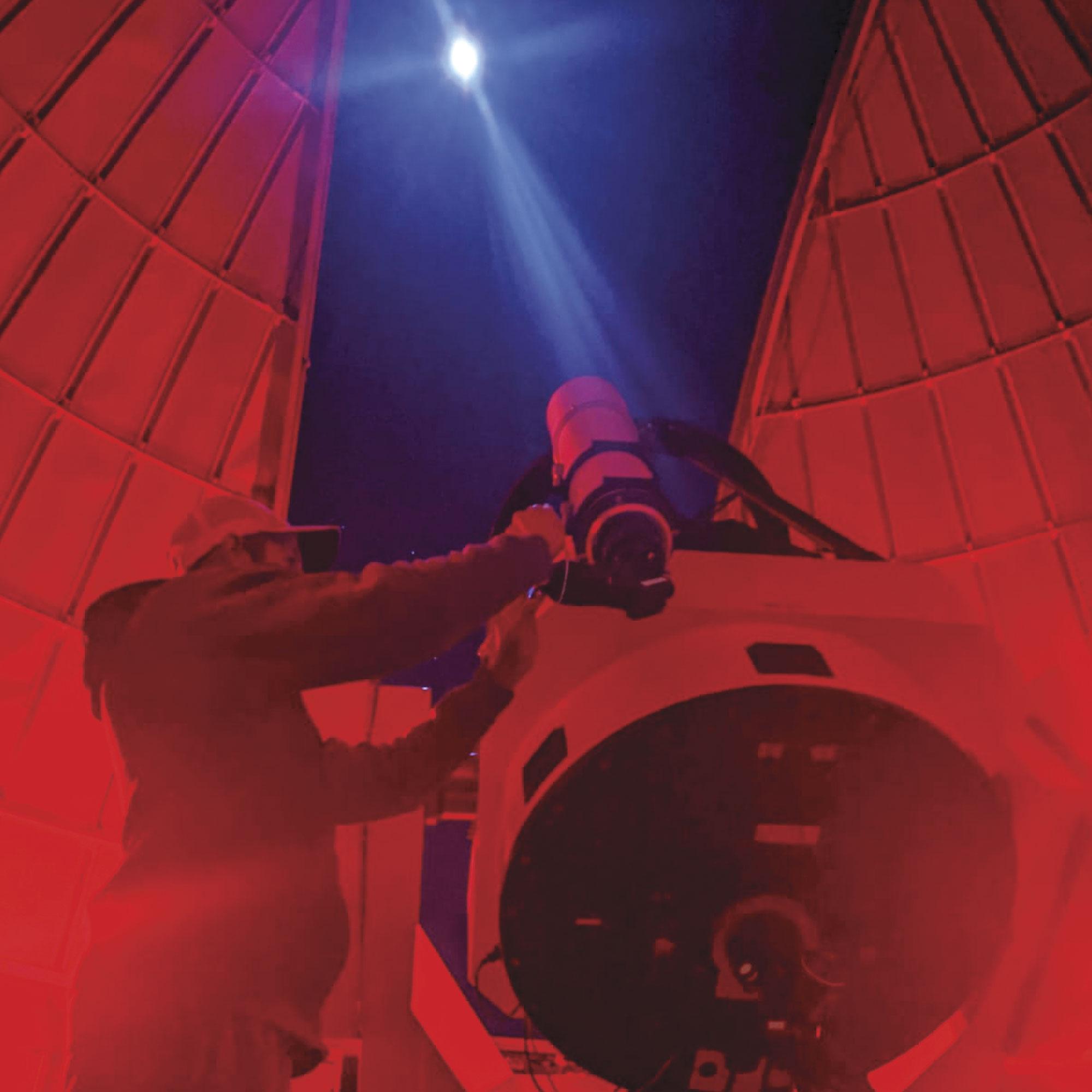 Mt. Lemmon SkyCenter Observatory; Photo courtesy U of A Mt. Lemmon Skycenter