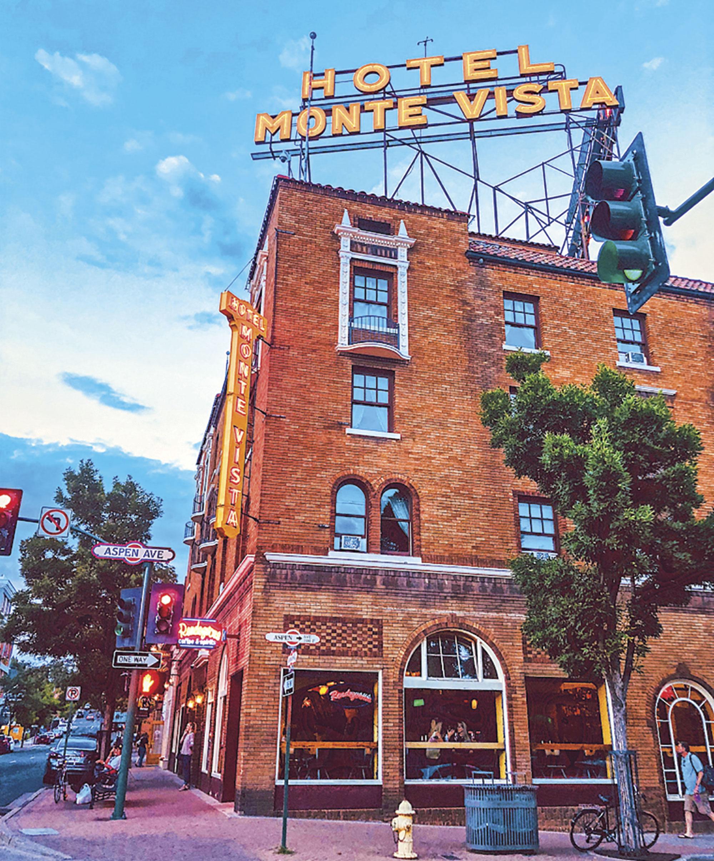 Hotel Monte Vista; Photo courtesy Downtown Flagstaff.org