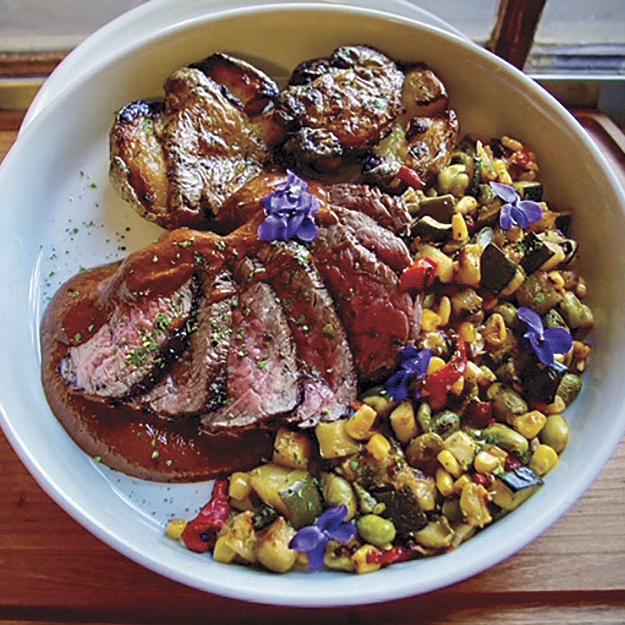 food at Orchard Canyon; Photo courtesy Orchard Canyon On Oak Creek