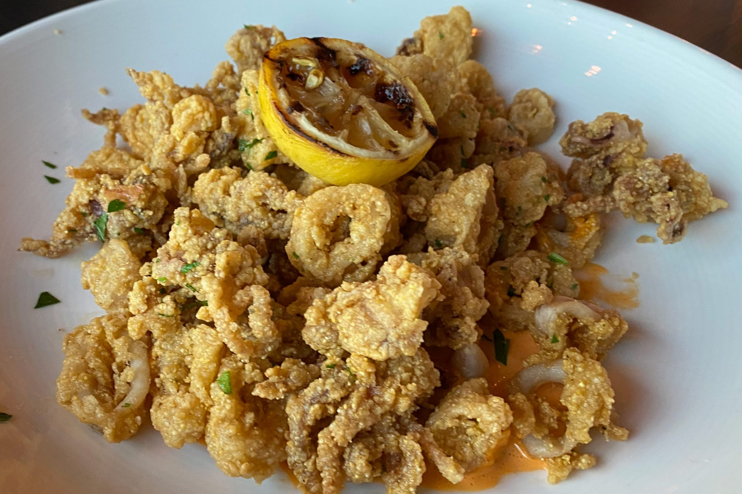 Crispy Calamari appetizer at Taphouse Kitchen Phoenix. Photo by Matthew Johnson, PHOENIX