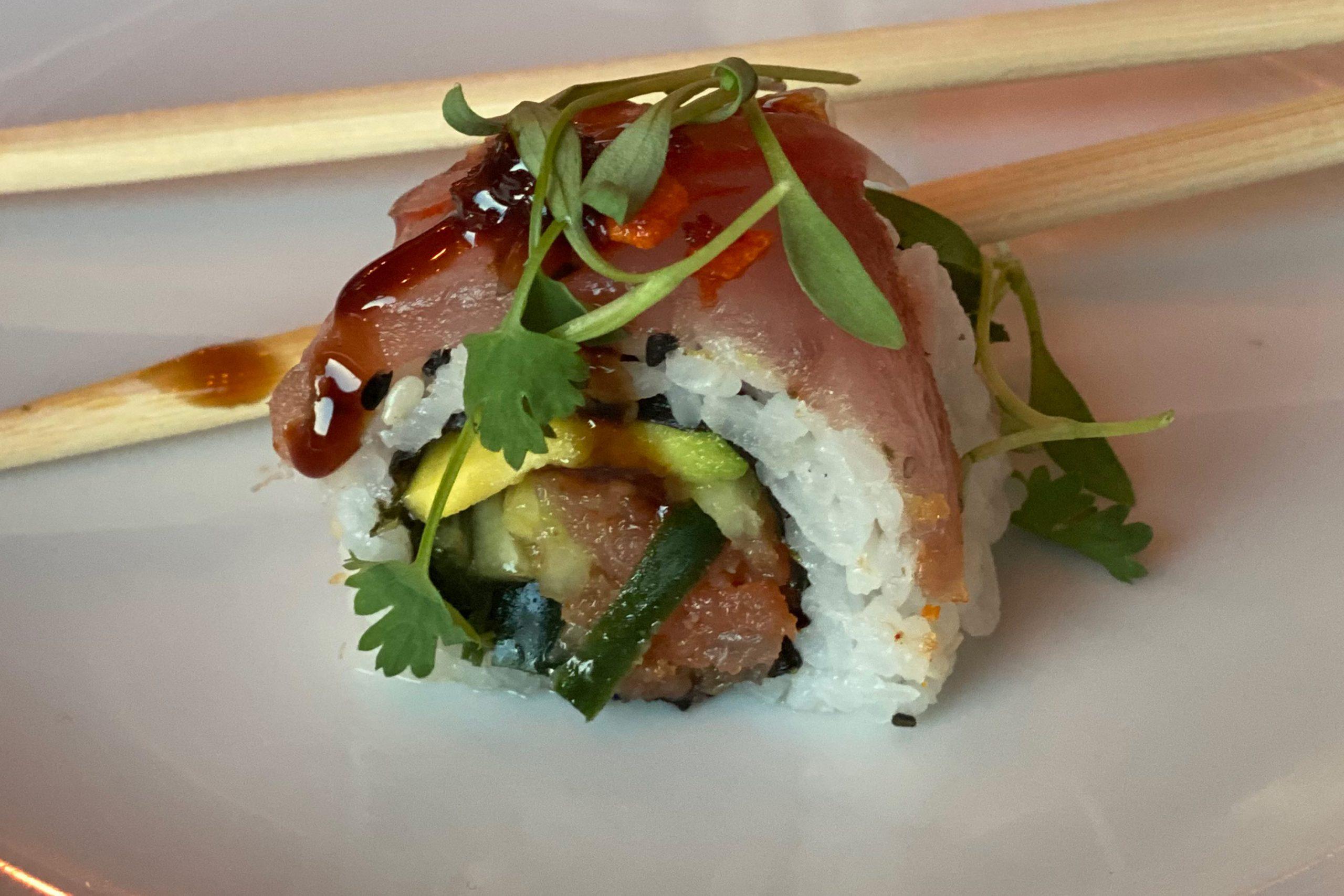 Taps Signature Sushi. Photo by Matthew Johnson, PHOENIX