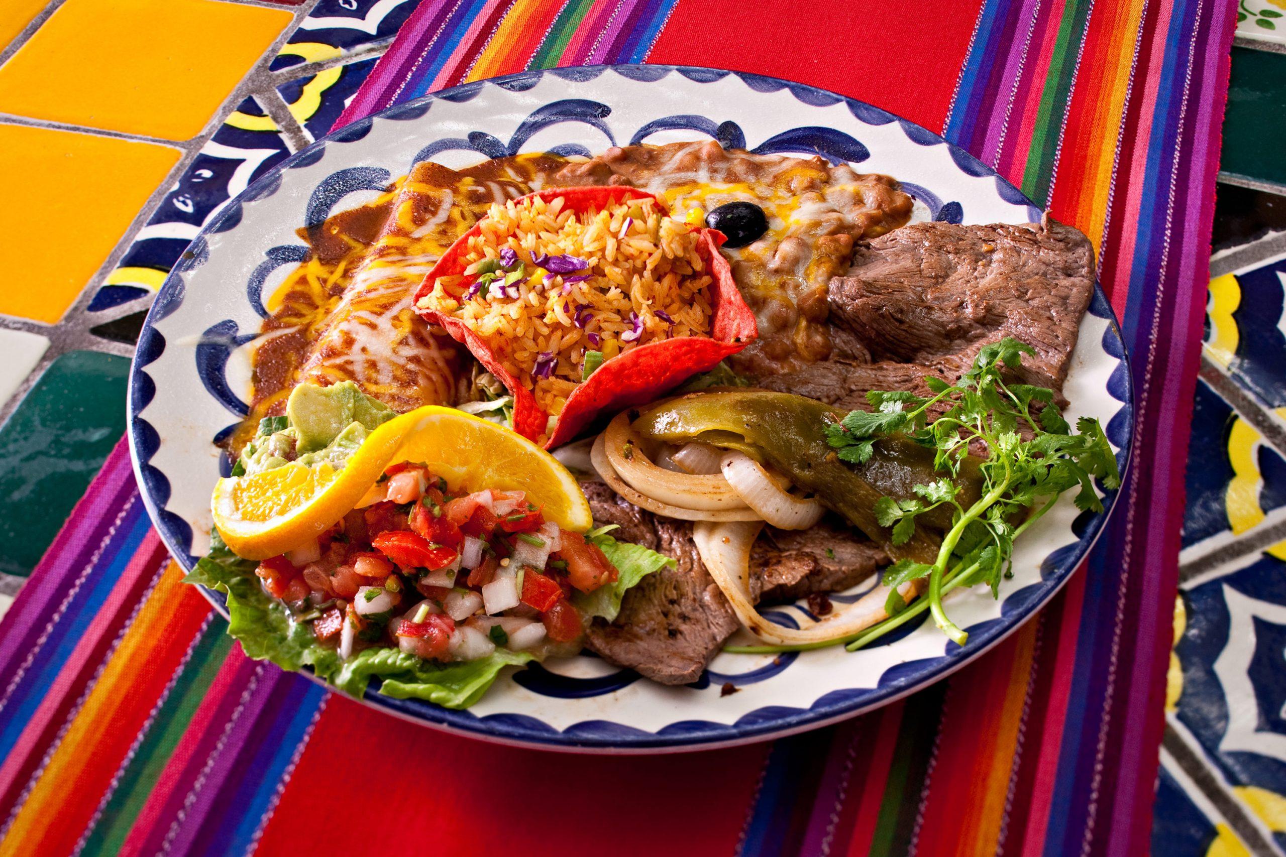 Carne Asada Tampiquena at Casa Guadalajara