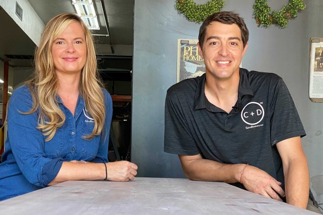 Meet Your Makers: Chase and Dawn Albright create custom furniture at C + D Industry in Glendale