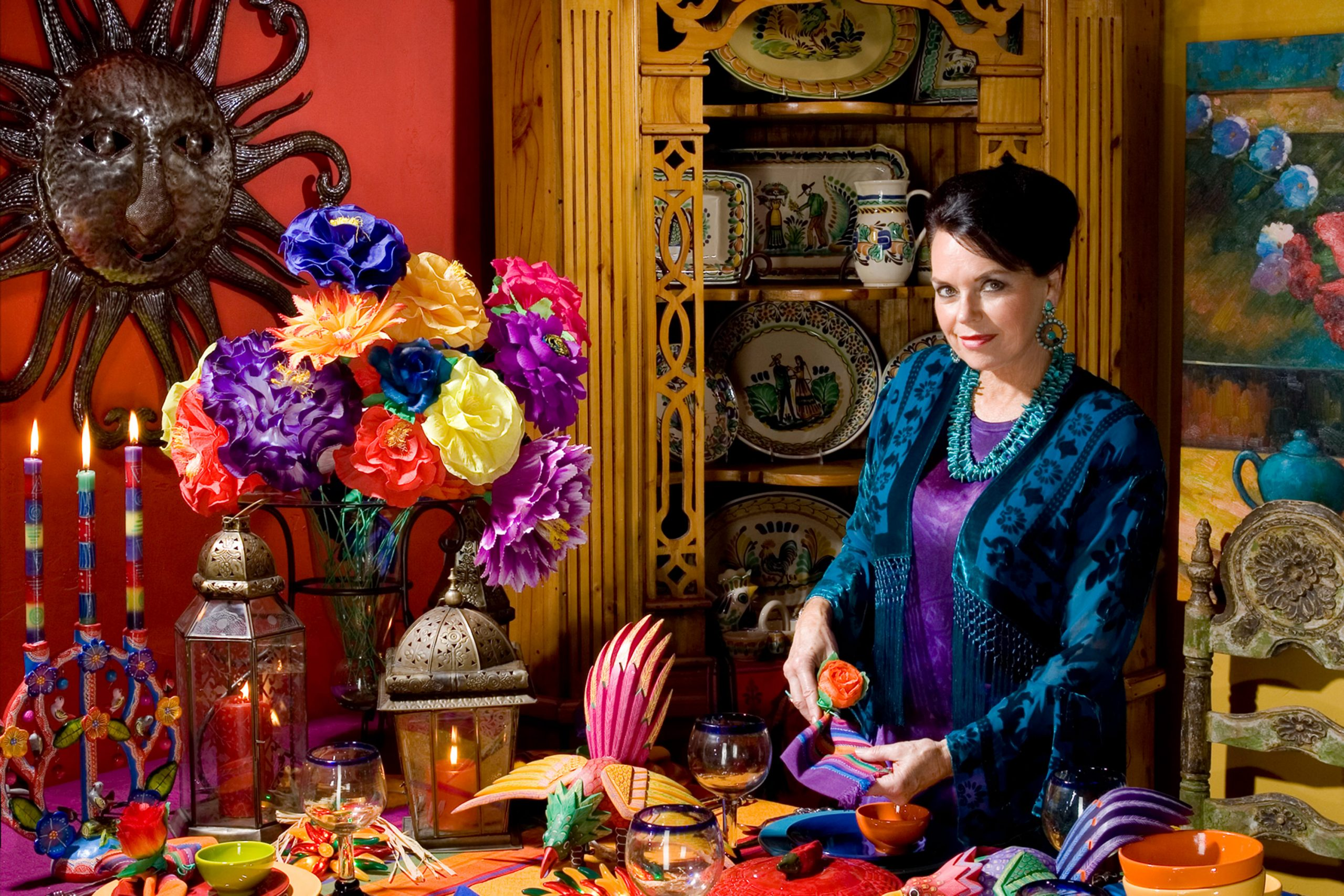 Diane Powers, owner and creator of the Bazaar del Mundo Shops in Old Town San Diego