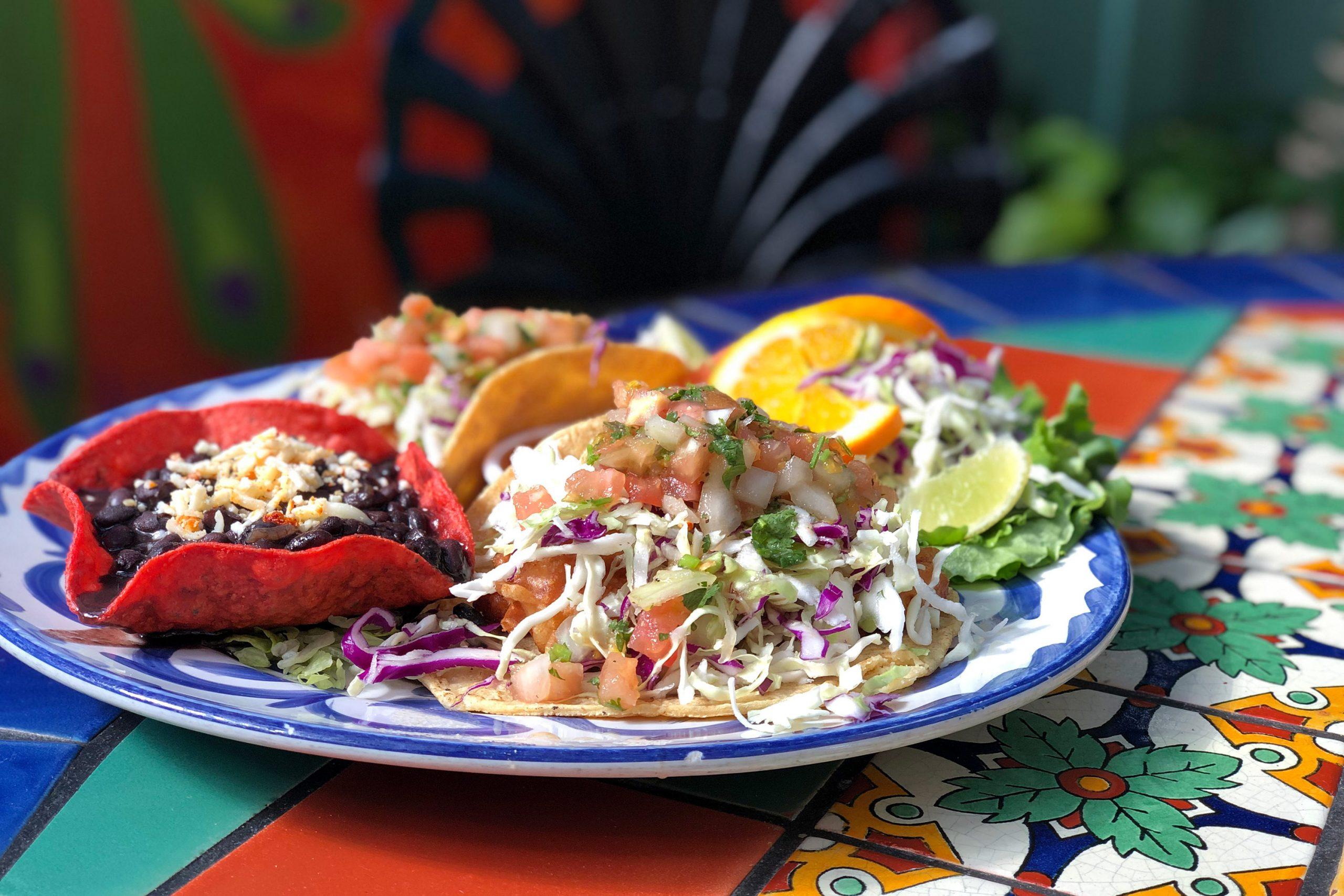 Ensenada Fish Tacos at Casa Guadalajara