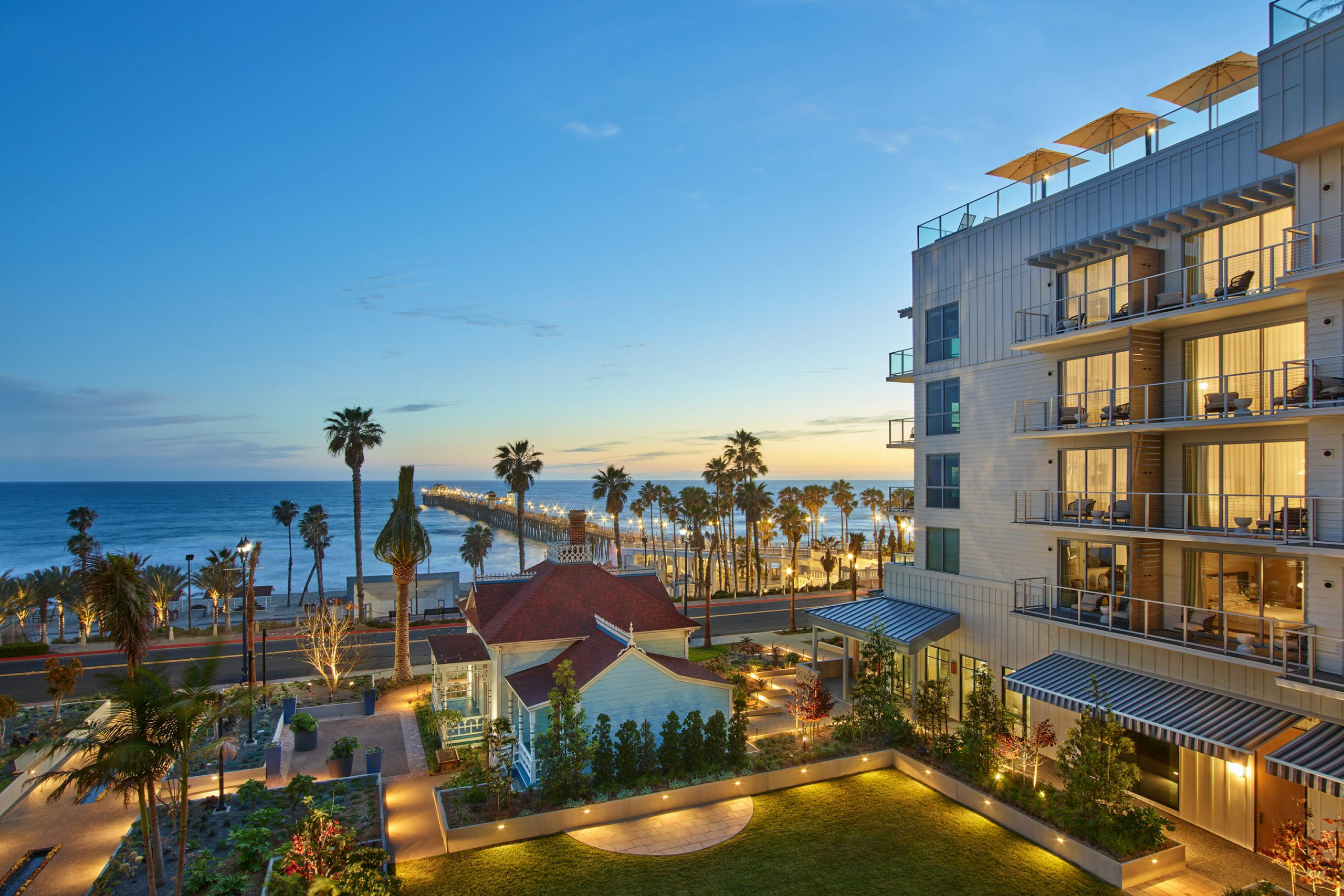 Mission Pacific Hotel in Oceanside
