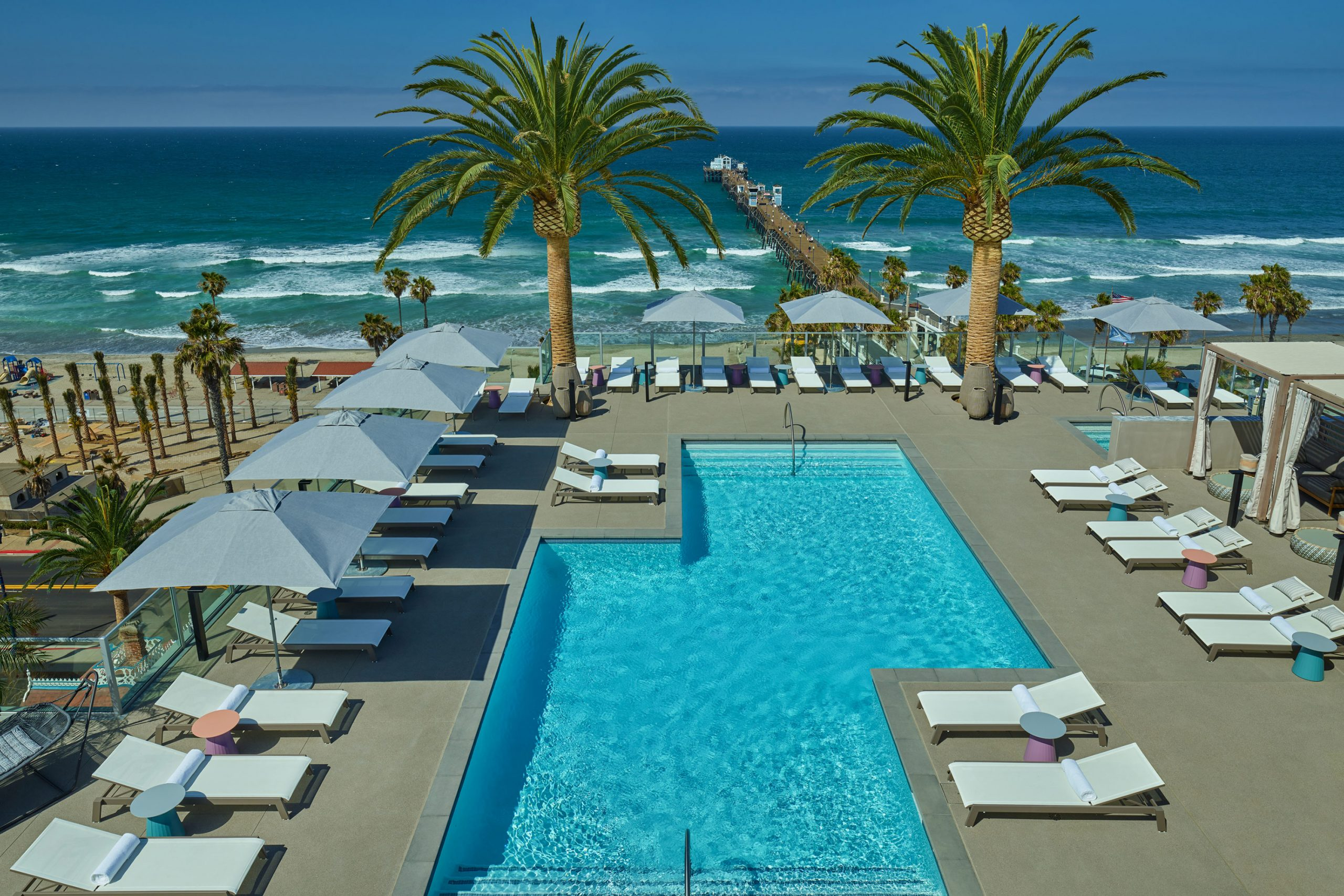 Mission Pacific Hotel pool