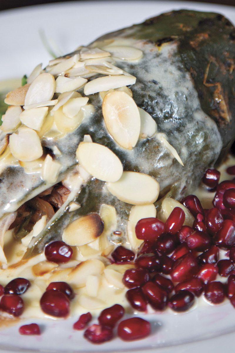 Three Bites: Chiles en Nogada