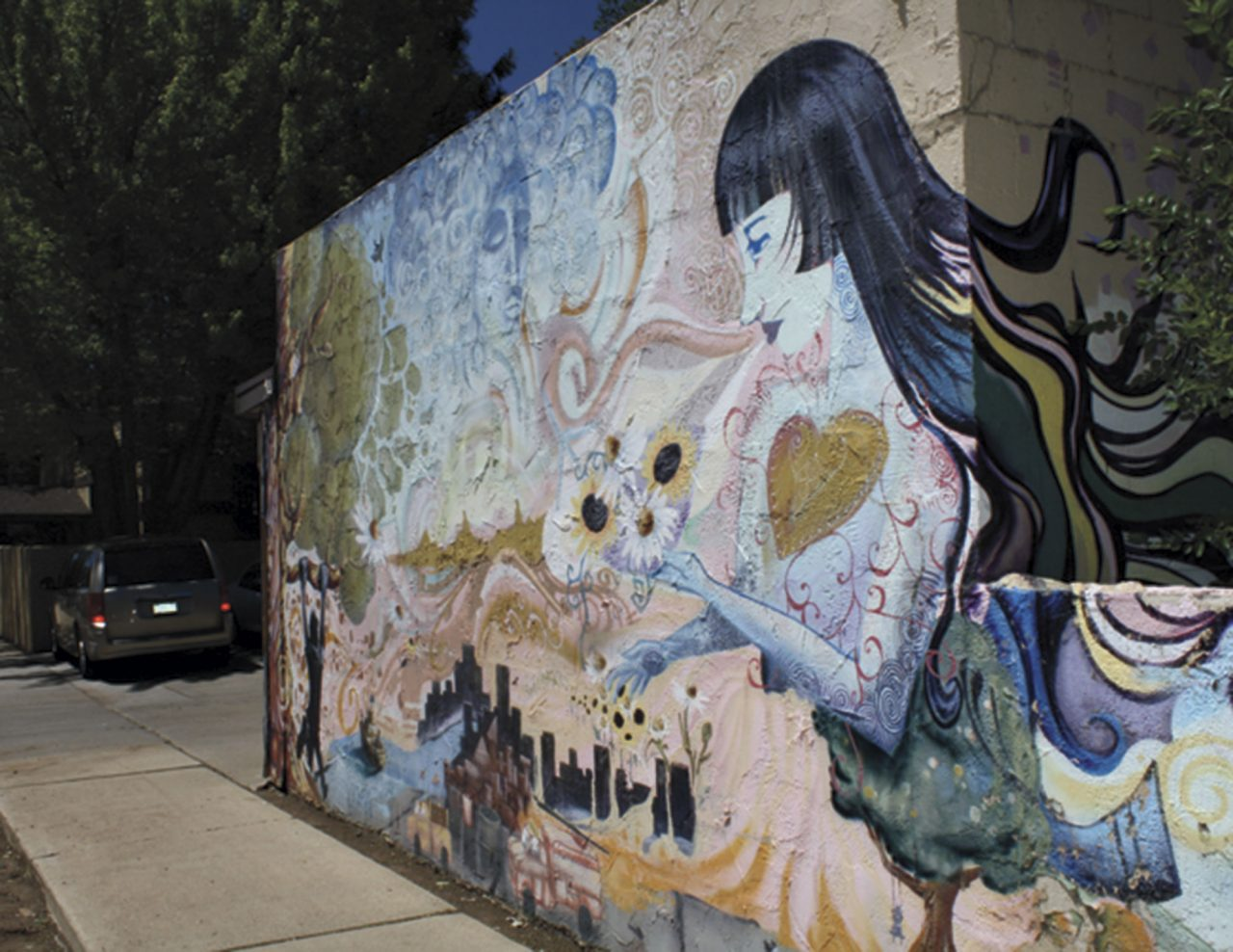 LeRoux Street Mural