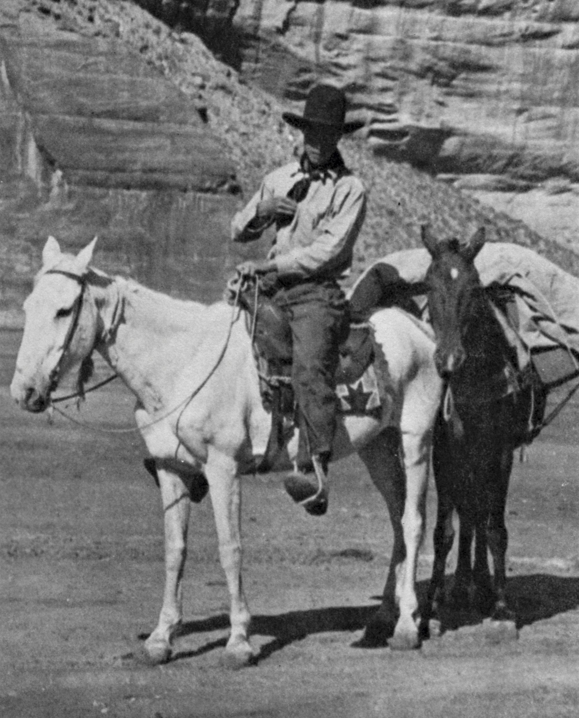 Ruess at Canyon de Chelly in Arizona, 1932; Photo courtesy Steven Jerman